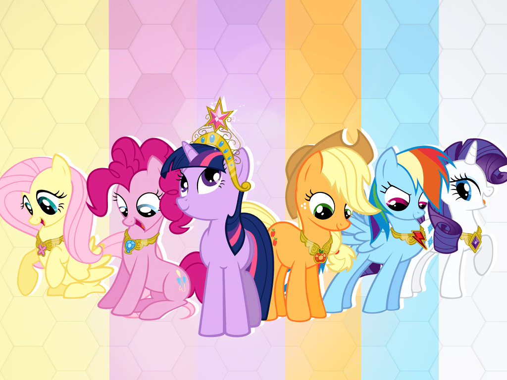 Little Pony Wallpapers Wallpaper Cave