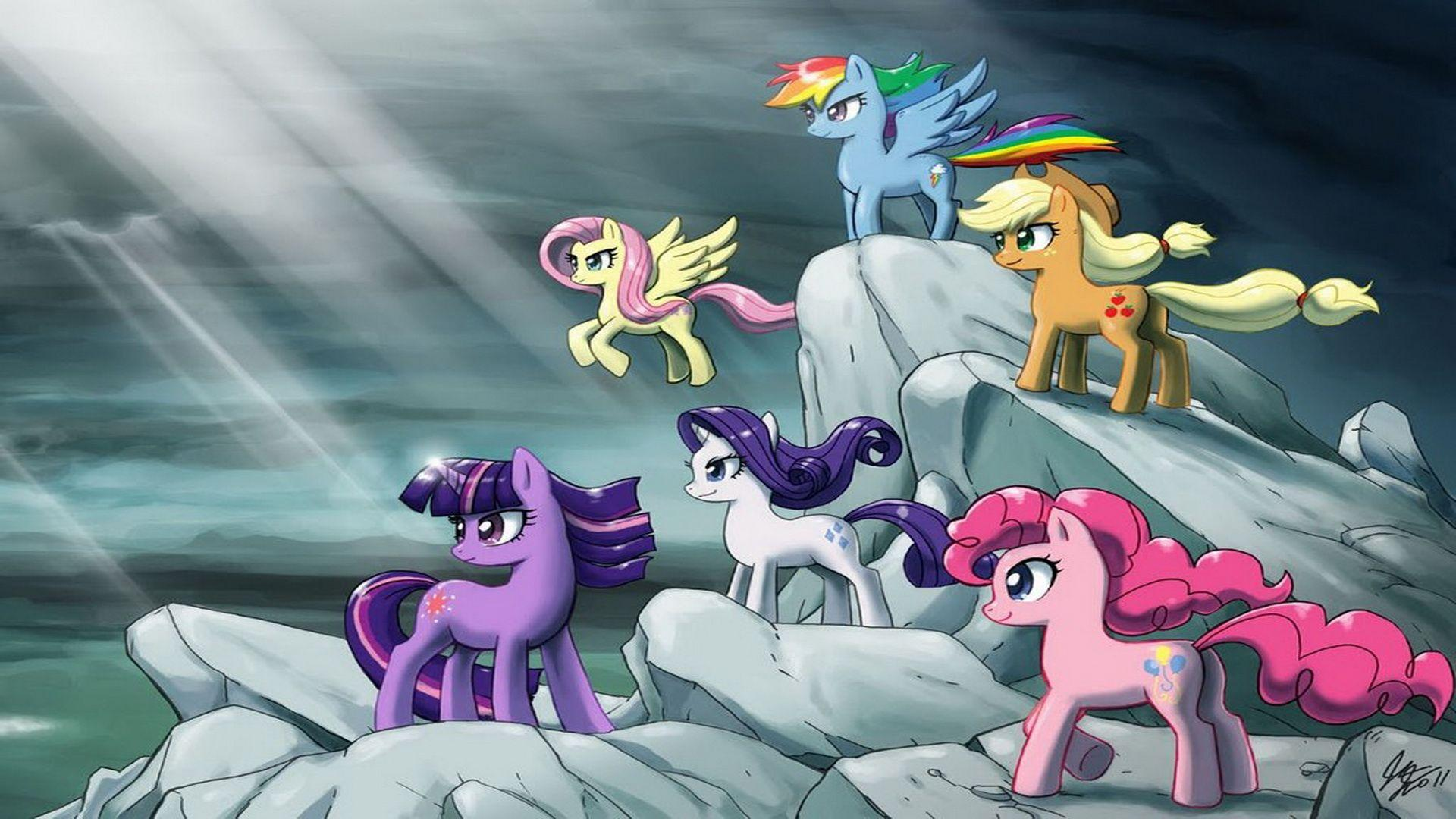 Image - My Little Pony Friendship Is Magic's wallpaper.jpg | My ...