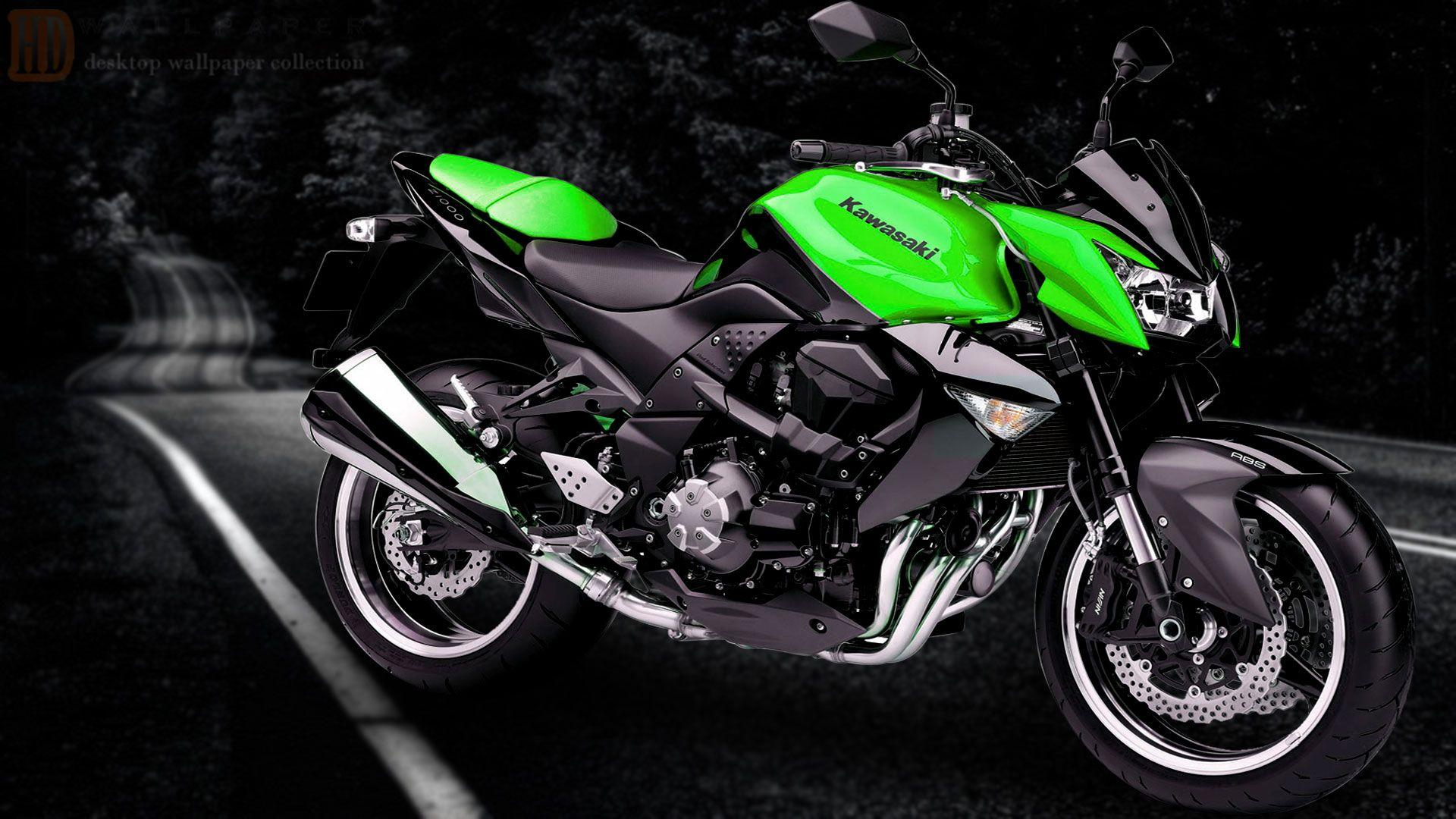 Kawasaki Z800 Wallpapers HD