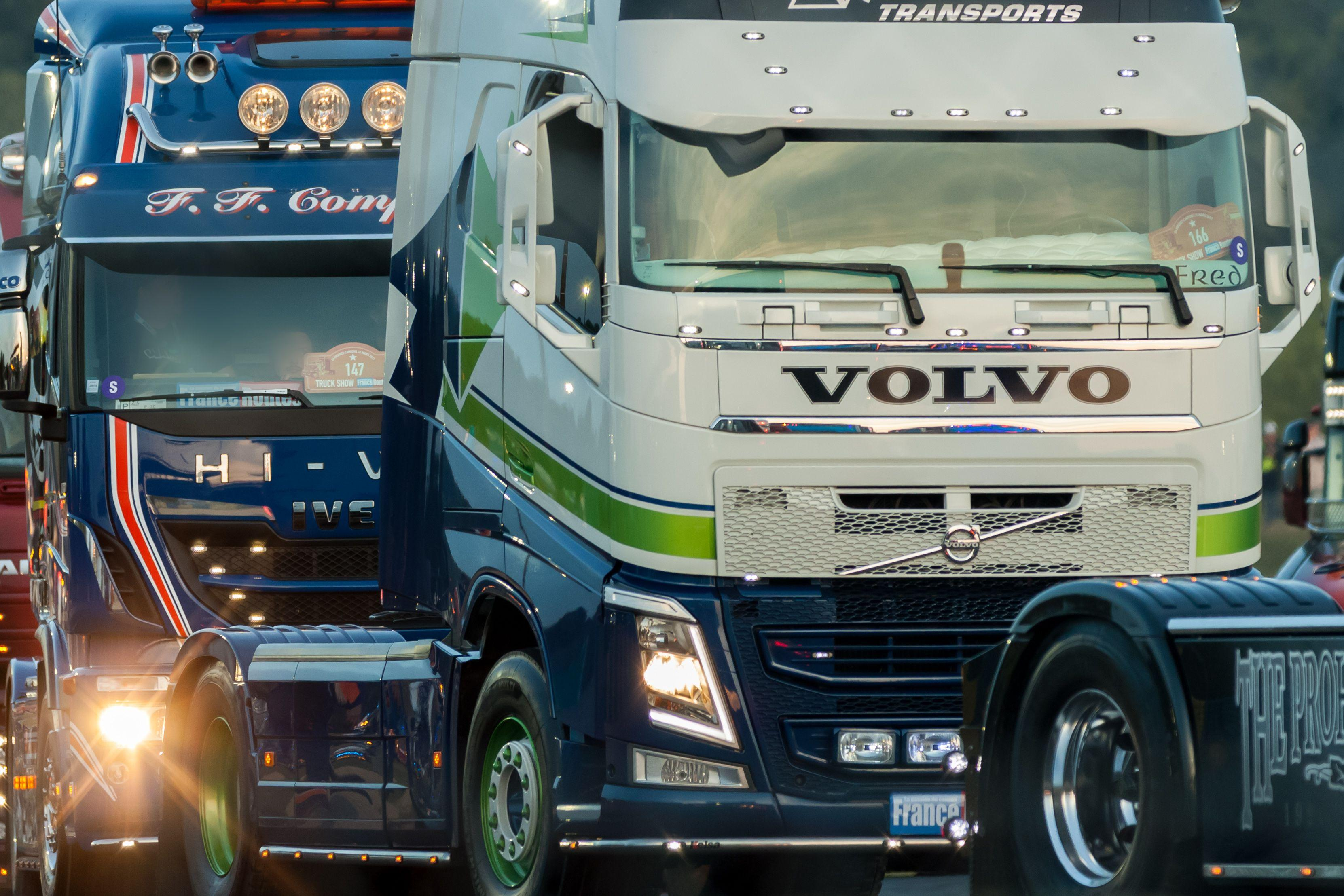 Volvo Wallpapers - Free High Resolution Trucks Backgrounds Download