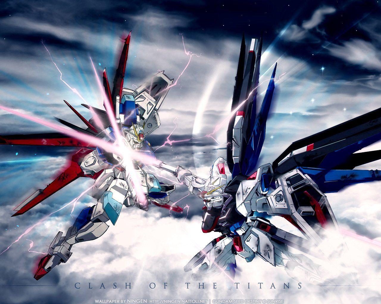 Freedom Gundam Wallpapers Wallpaper Cave