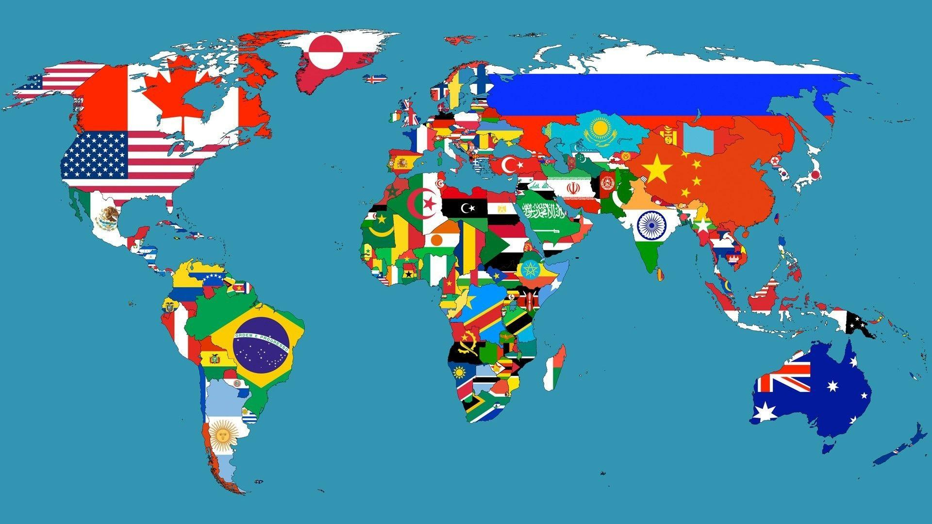 World Map Wallpapers HD 1920x1080 - Wallpaper Cave