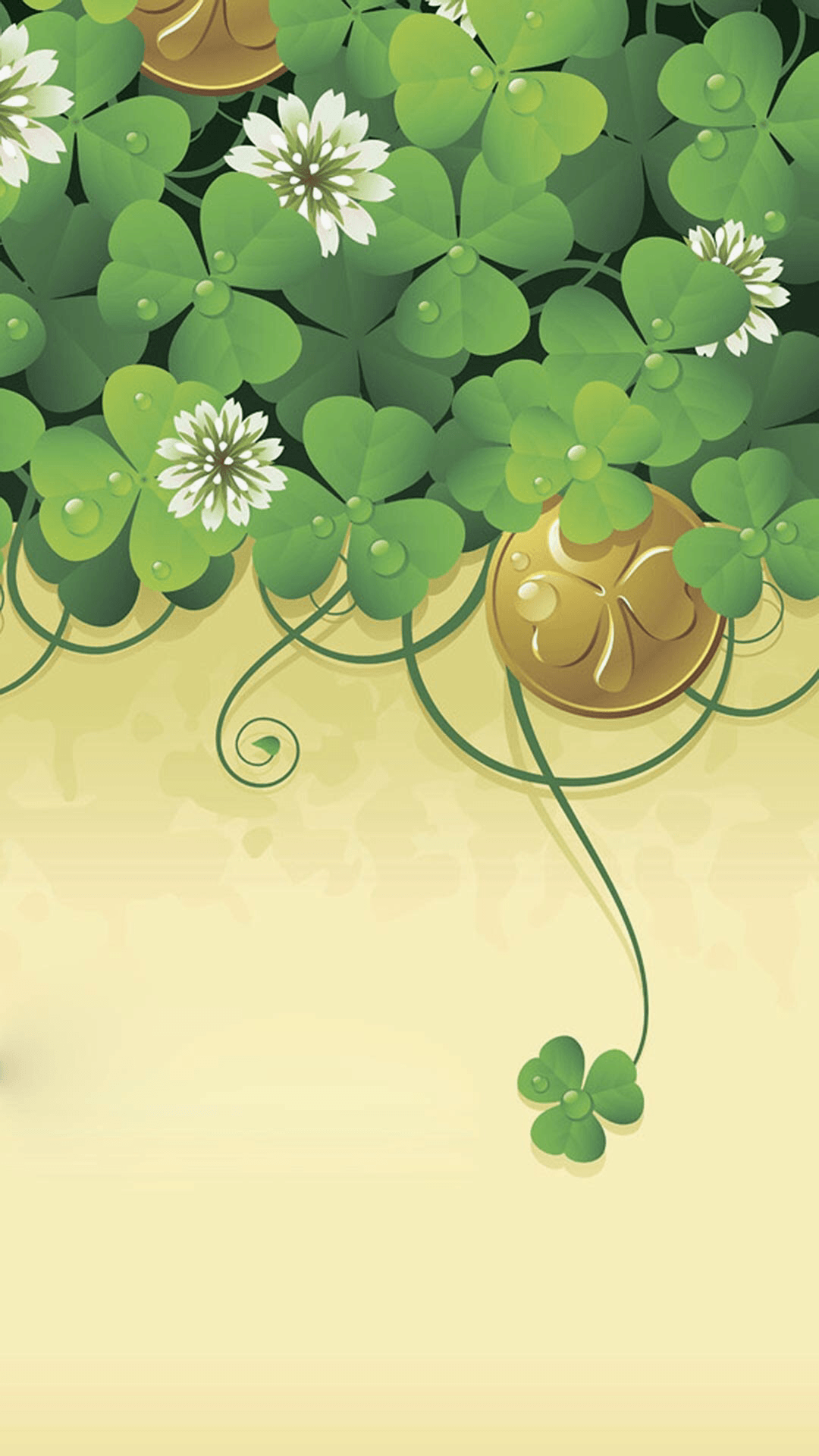 Lucky Leaf Wallpapers Wallpaper Cave