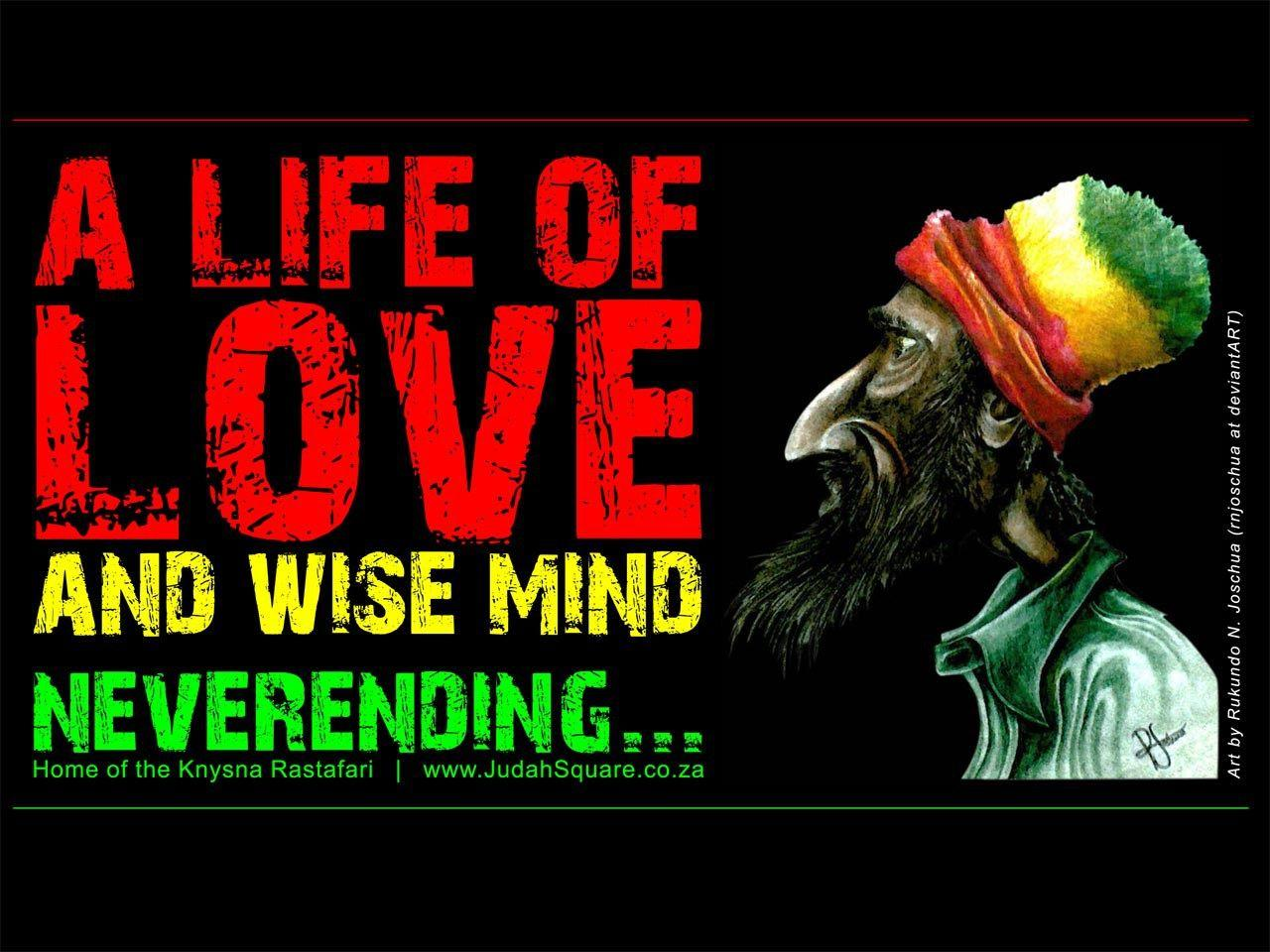 One Love Rasta Wallpapers Wallpaper Cave