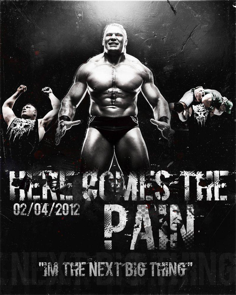 Brock Lesnar Wallpapers Here Comes The Pain