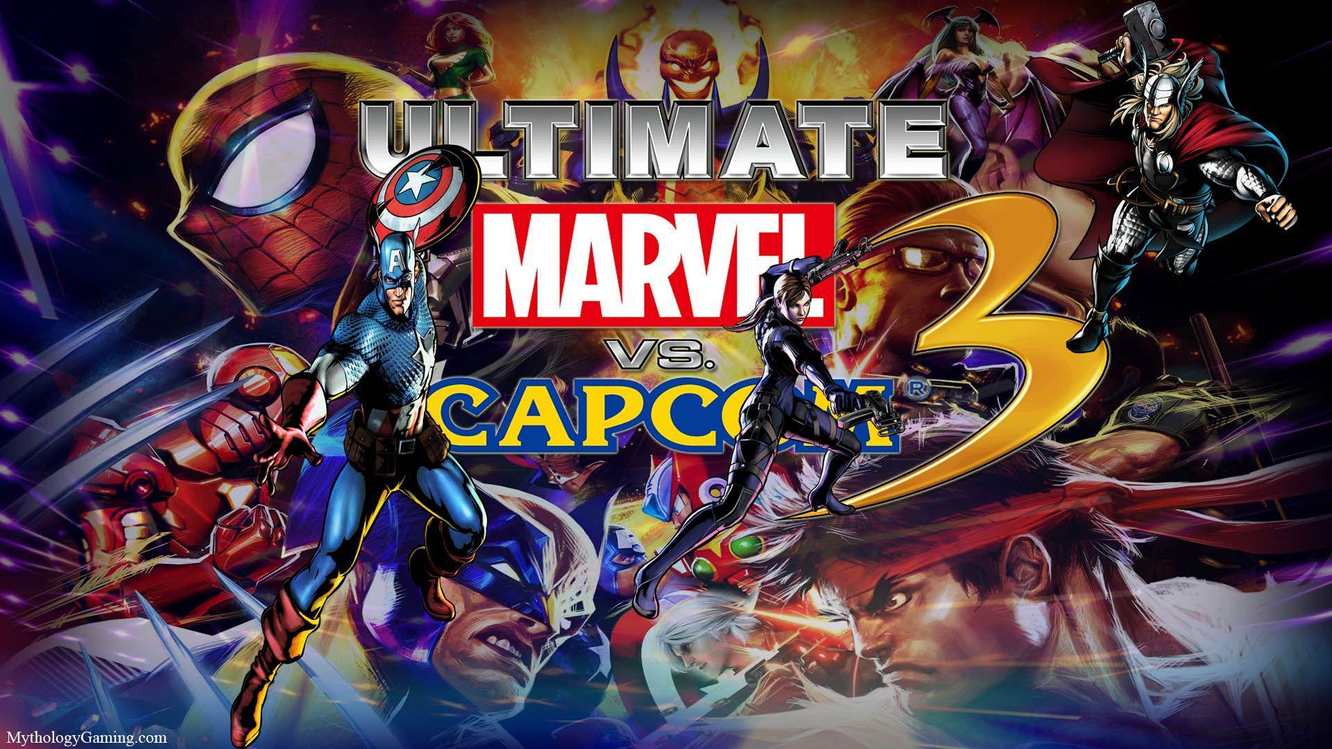 Marvel Vs Capcom 3 Hd Wallpapers Wallpaper Cave