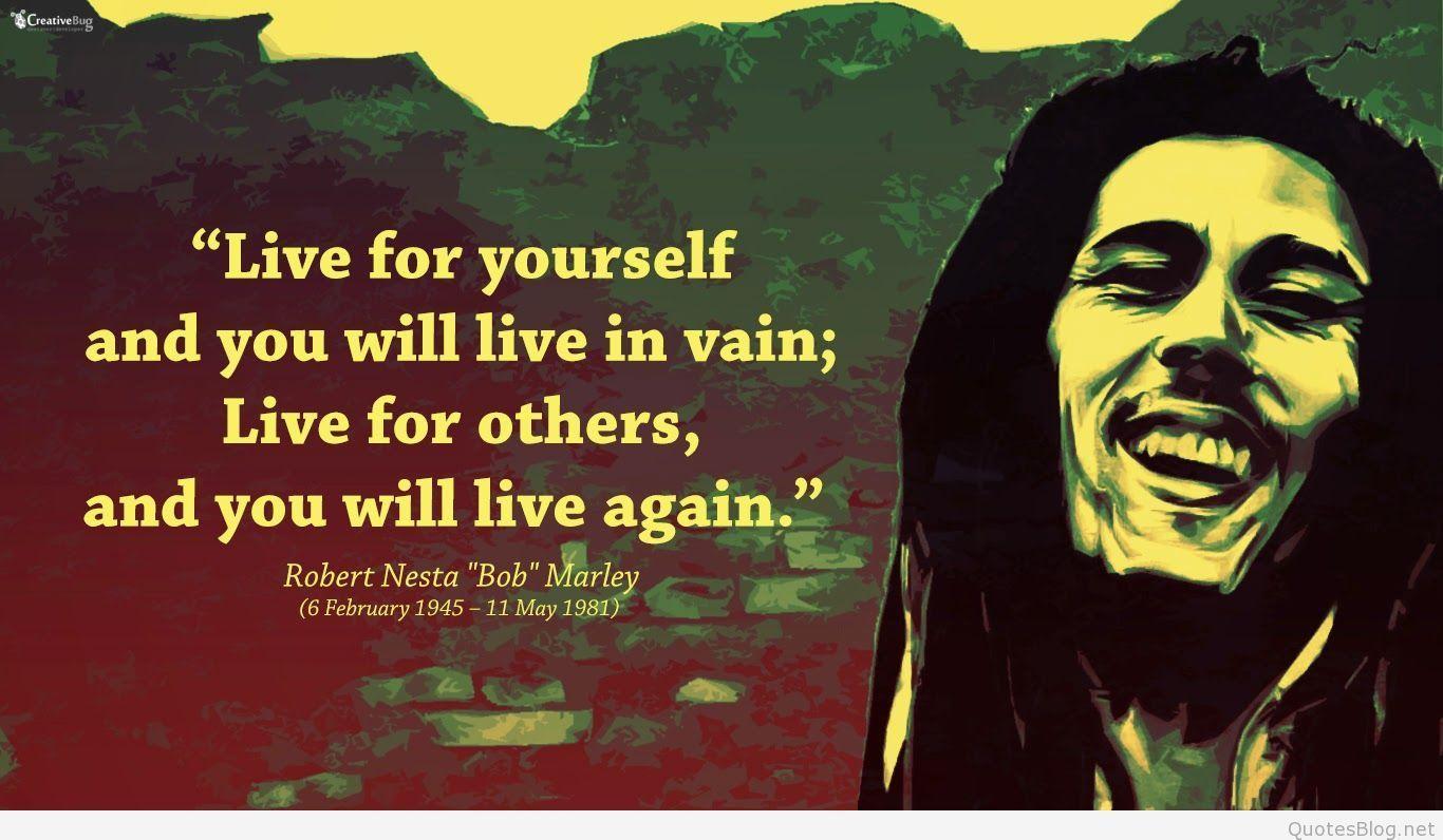 Bob Marley Wallpapers Quotes Wallpaper Cave