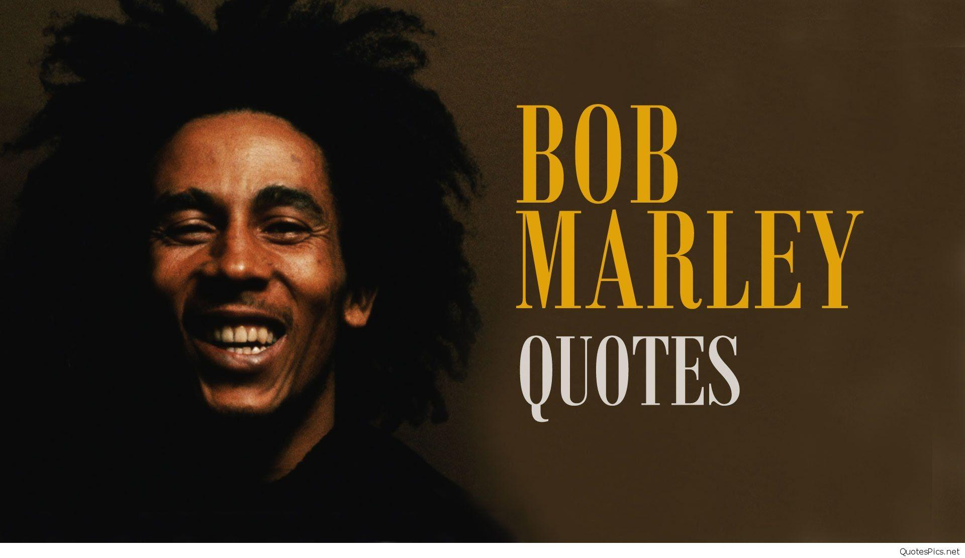 Bob Marley Wallpapers With Quotes Wallpaper Cave