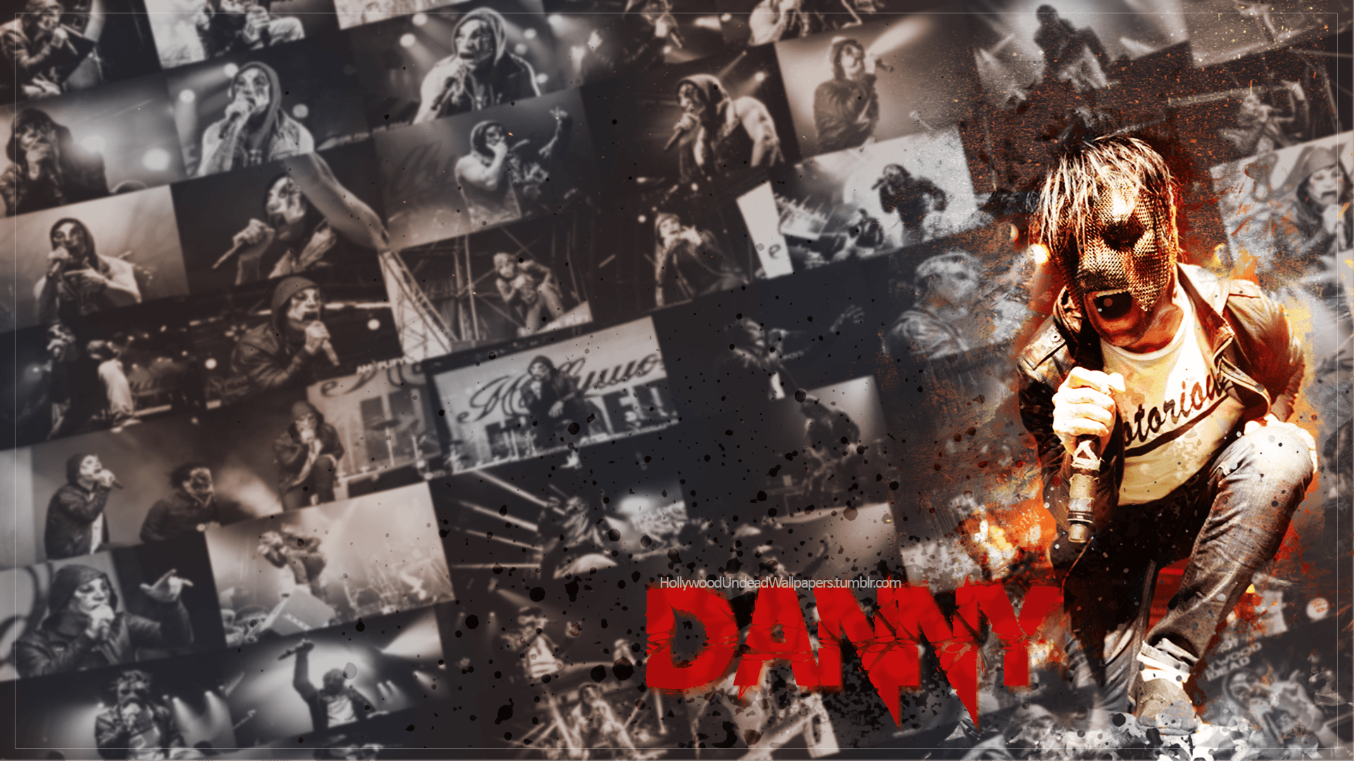 Hollywood Undead Day Of The Dead Danny Wallpaper