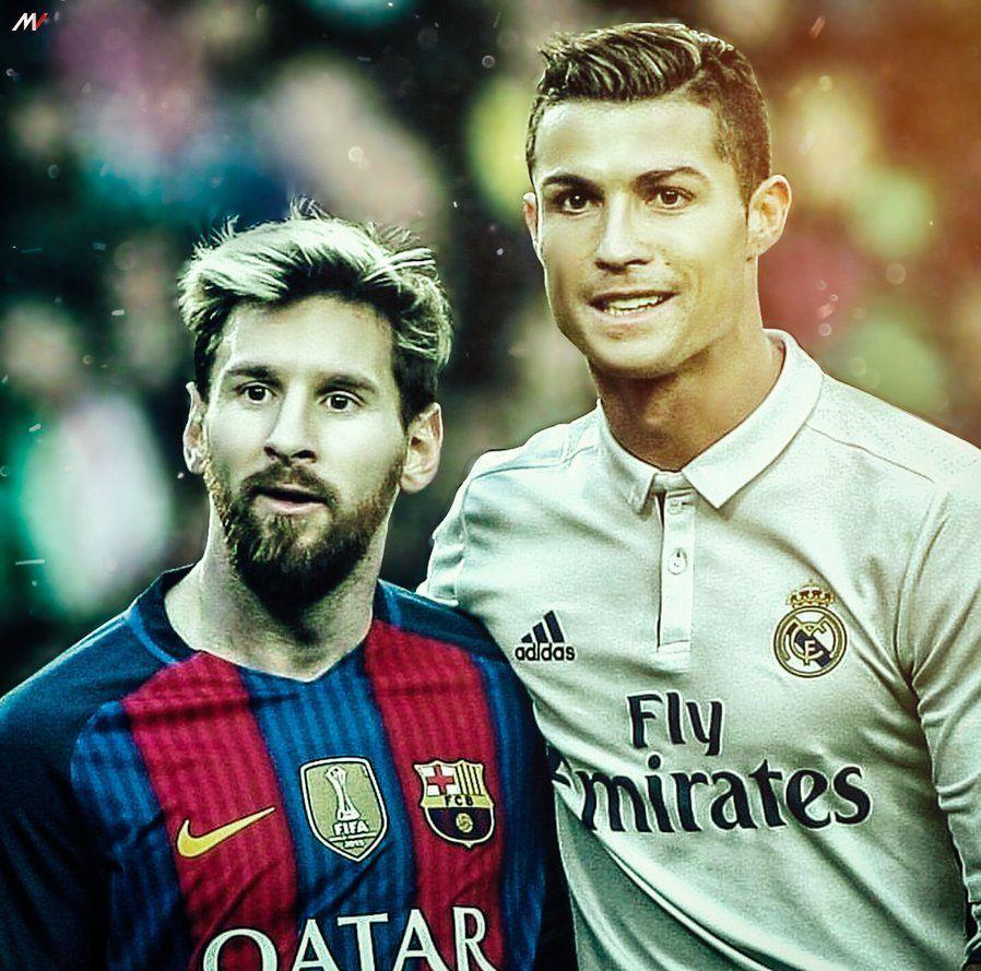 Messi And Ronaldo Wallpapers Wallpaper Cave