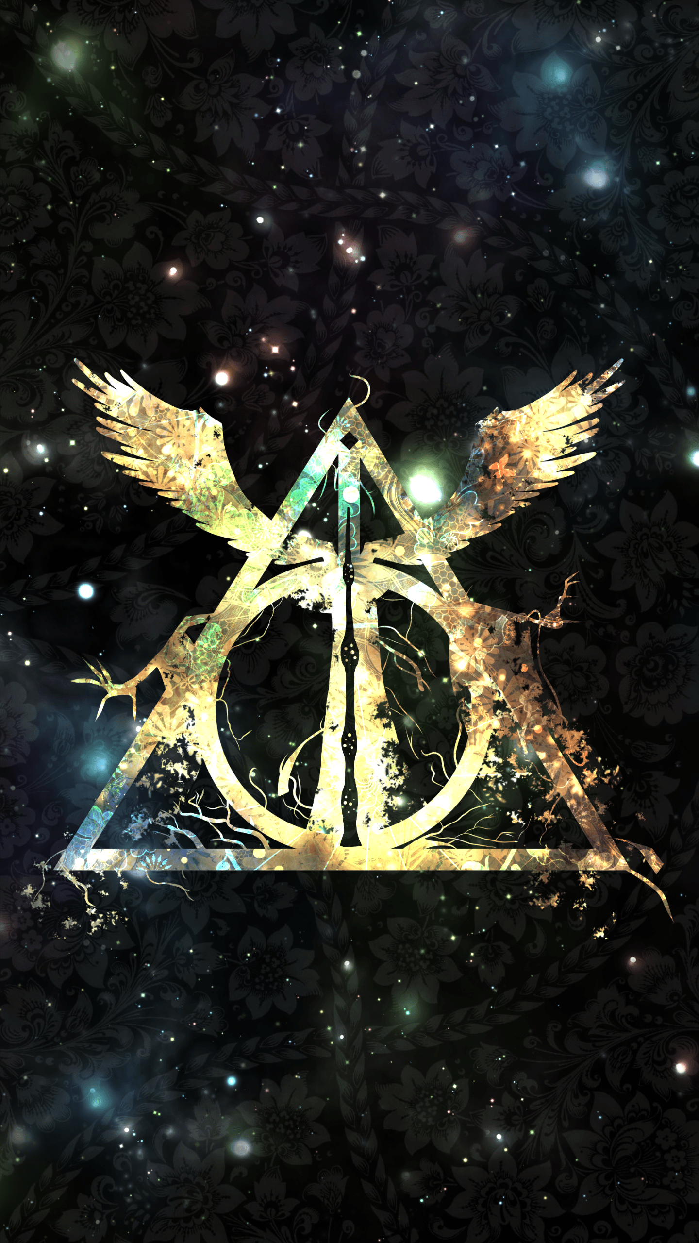 Deathly Hallows Symbol Wallpapers - Wallpaper Cave