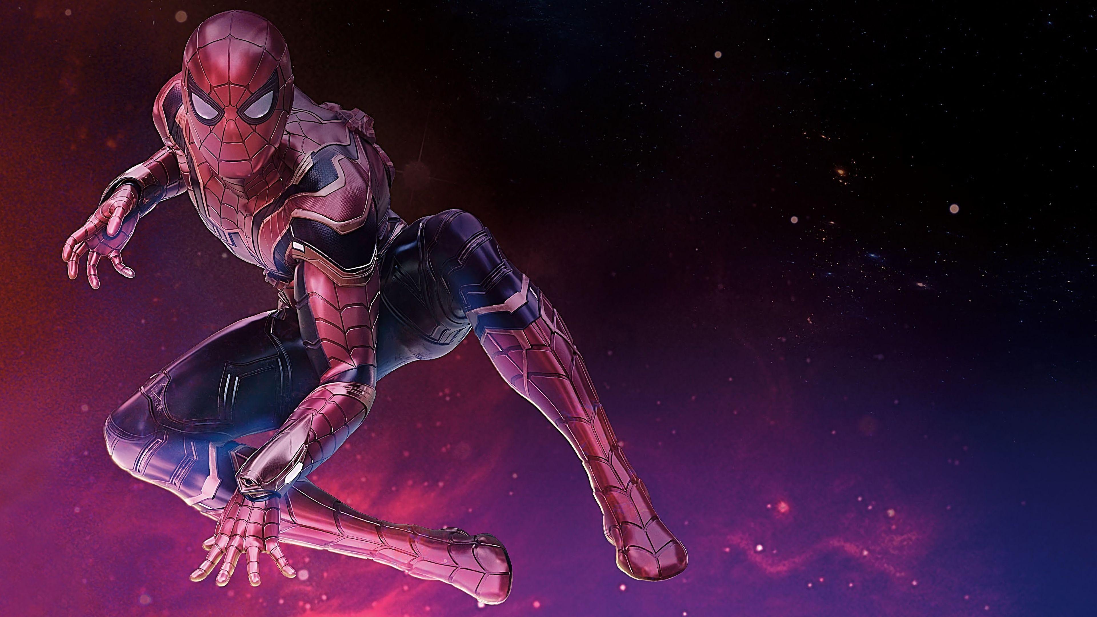 Spider Man Infinity War Wallpapers Wallpaper Cave