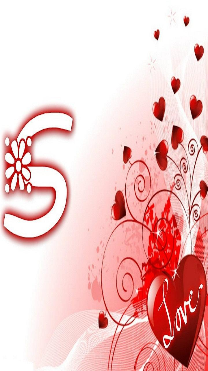 S Letter In Love Wallpapers Wallpaper Cave