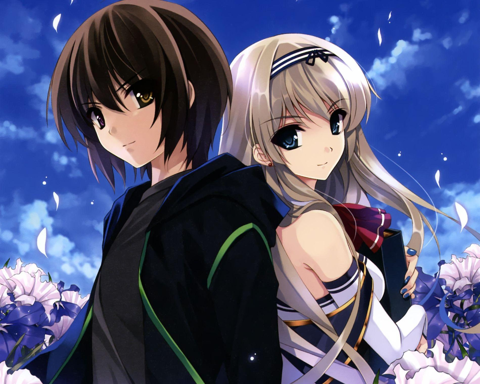 Wallpapers For Cute Anime Couples Wallpaper Desktop