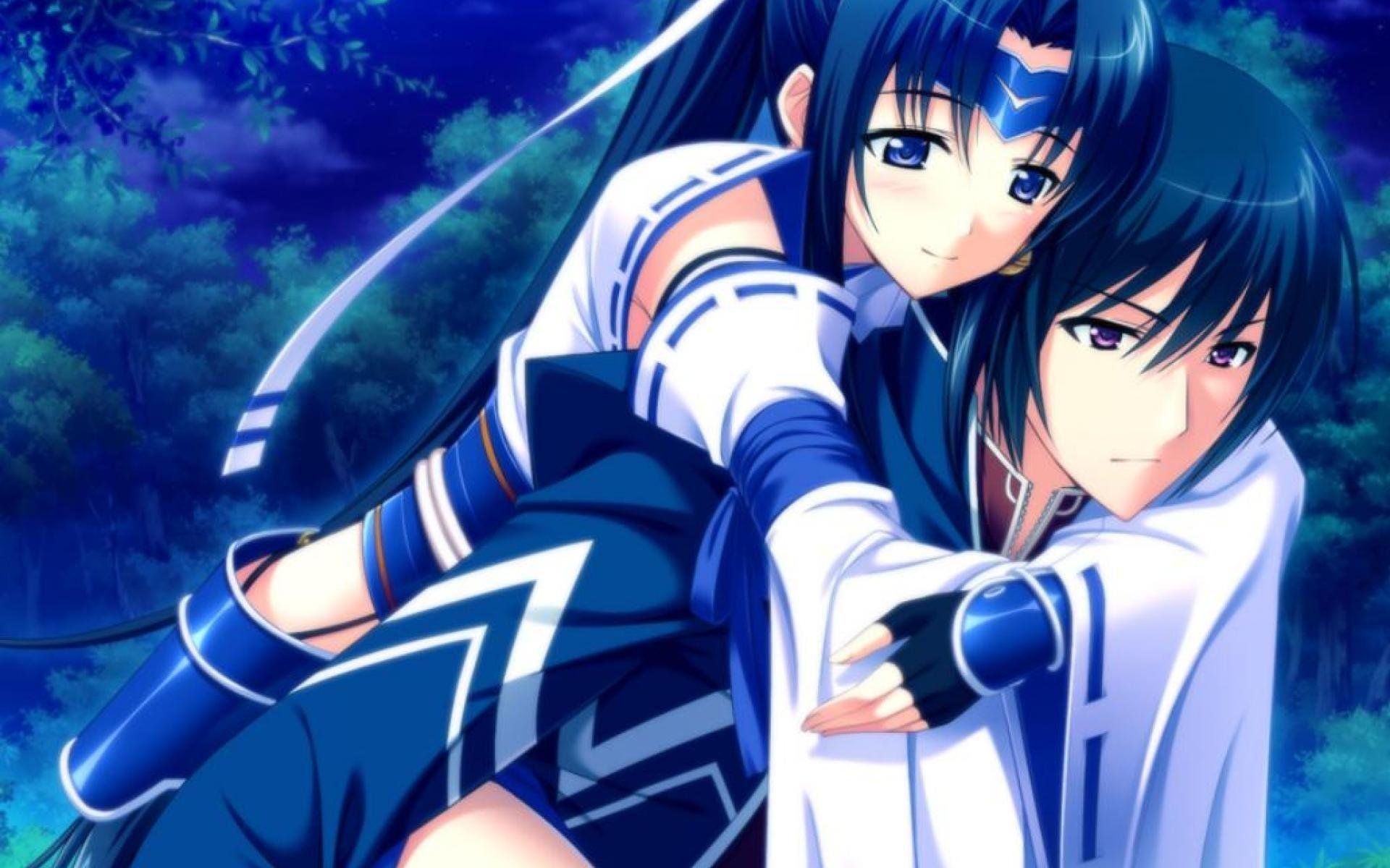 Romantic Couple ANIME Wallpapers Wallpaper Cave
