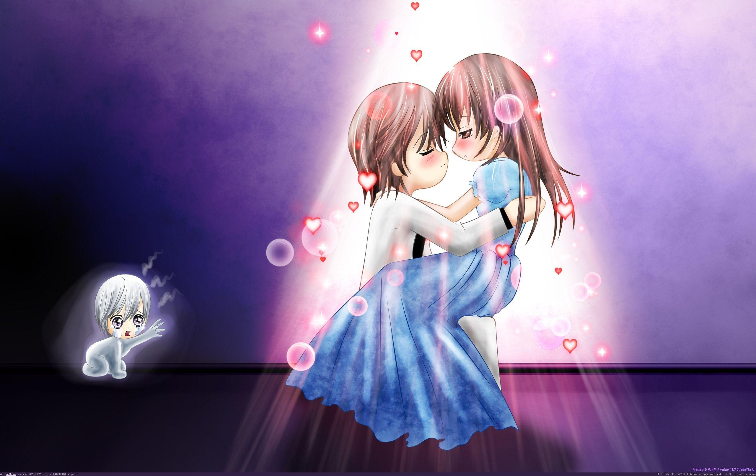 Anime Couple Wallpaper Hd Full Animated Cartoon Desktop High Quality