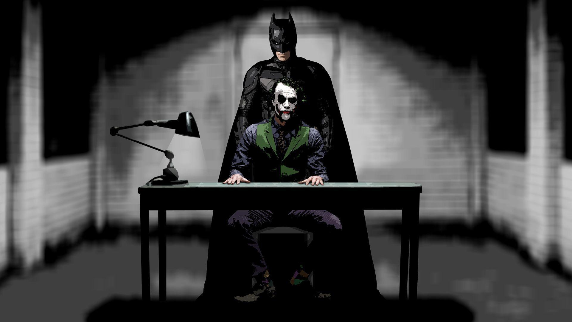 Batman Joker Full Hd Wallpapers Wallpaper Cave