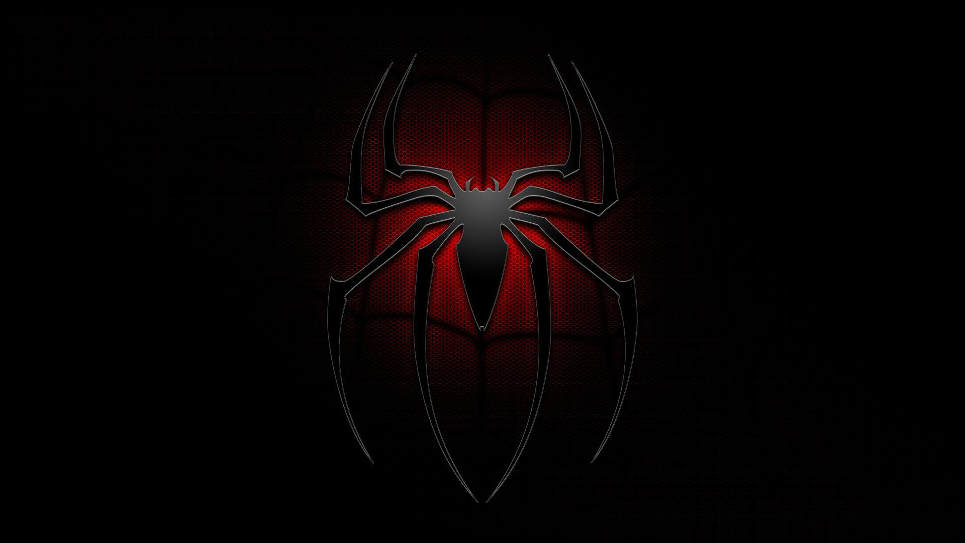 Black Spiderman Logo Wallpapers