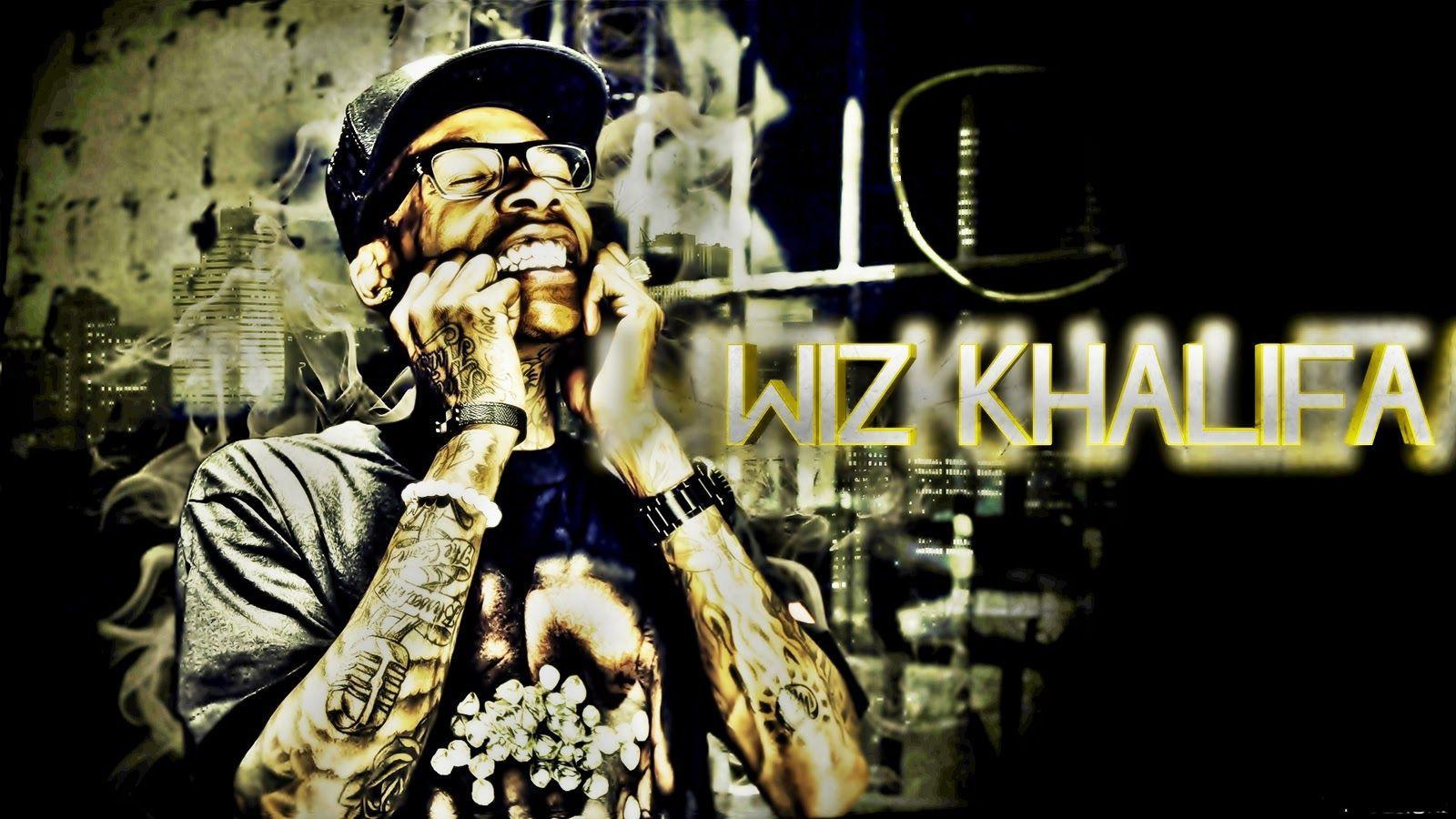 Wiz Khalifa Image Desktop Wallpaper Box