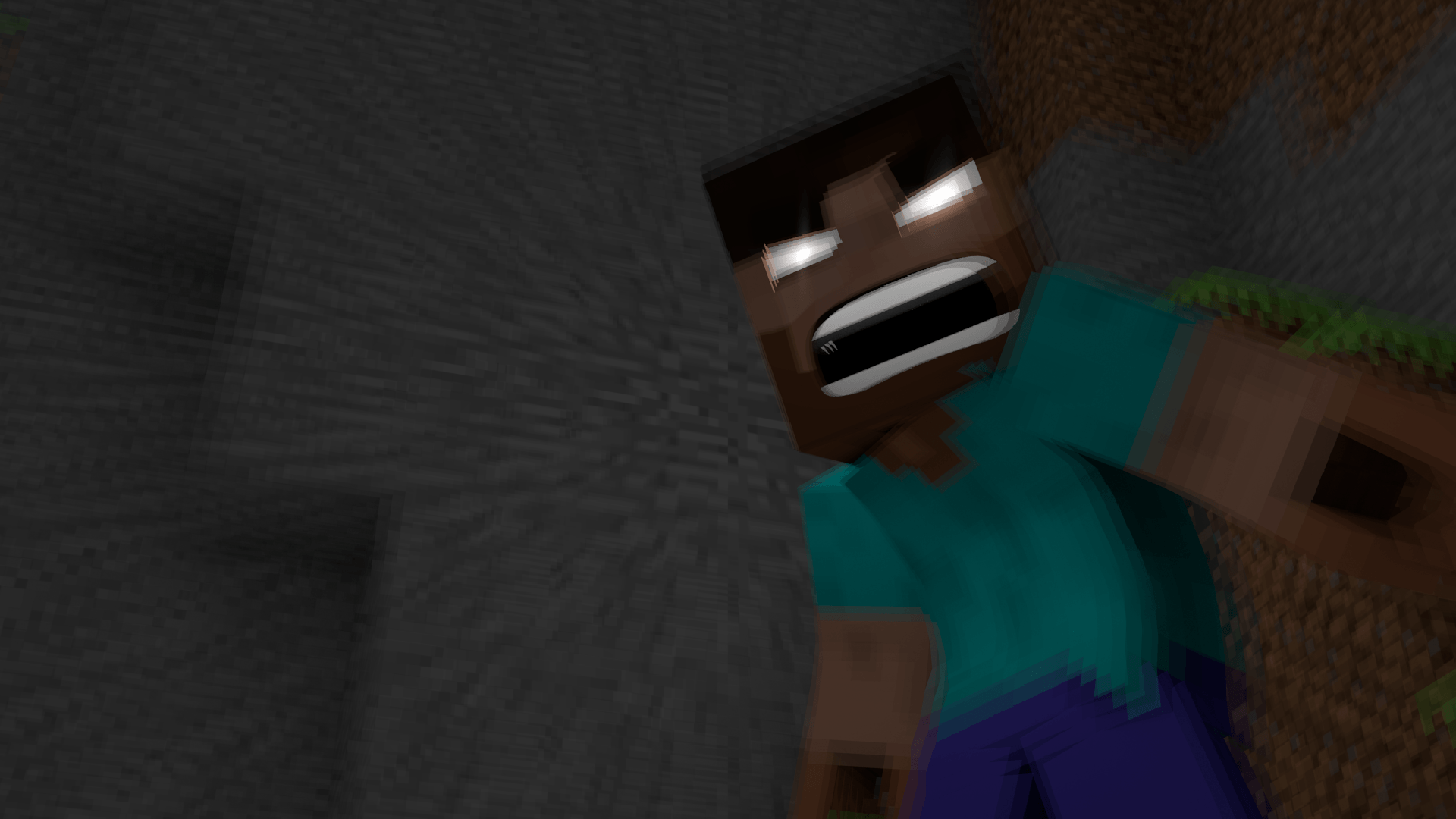 Angry Herobrine Wallpaper 46124 1920x1080 Px HDWallSource