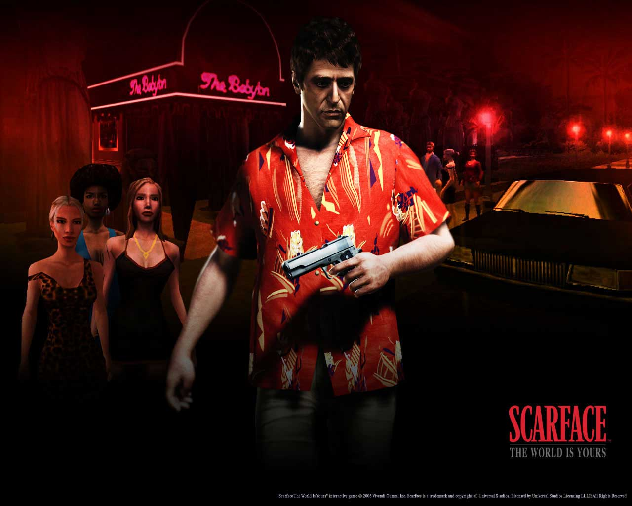 The Sierra Chest - Scarface: The World Is Yours: Wallpapers / themes