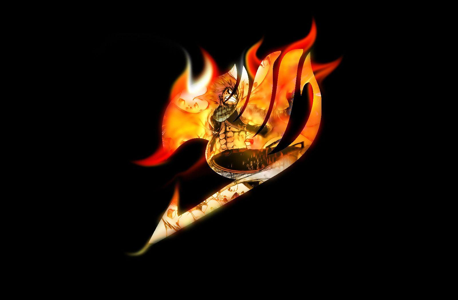 Fighting Fairy Tail Logo Wallpaper.