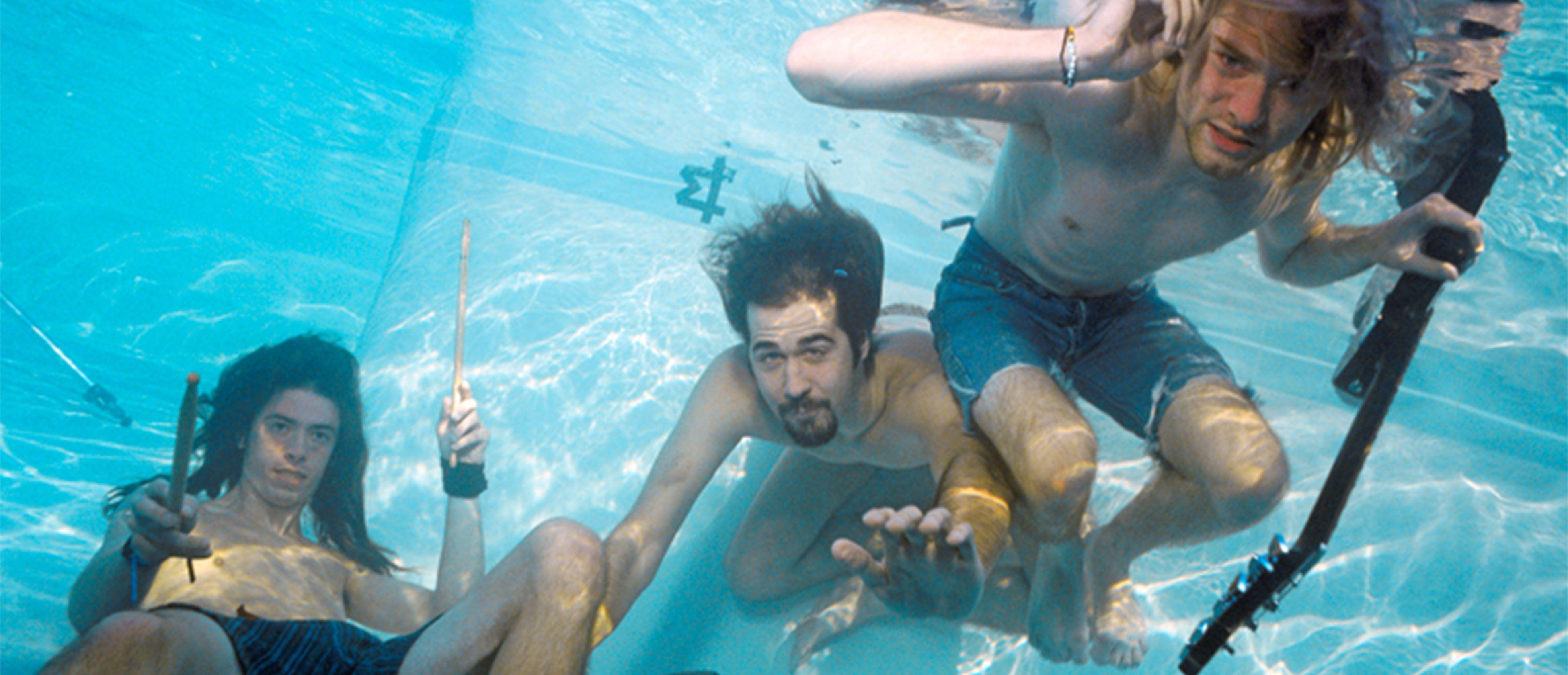 Nirvana Nevermind Wallpapers Wallpaper Cave
