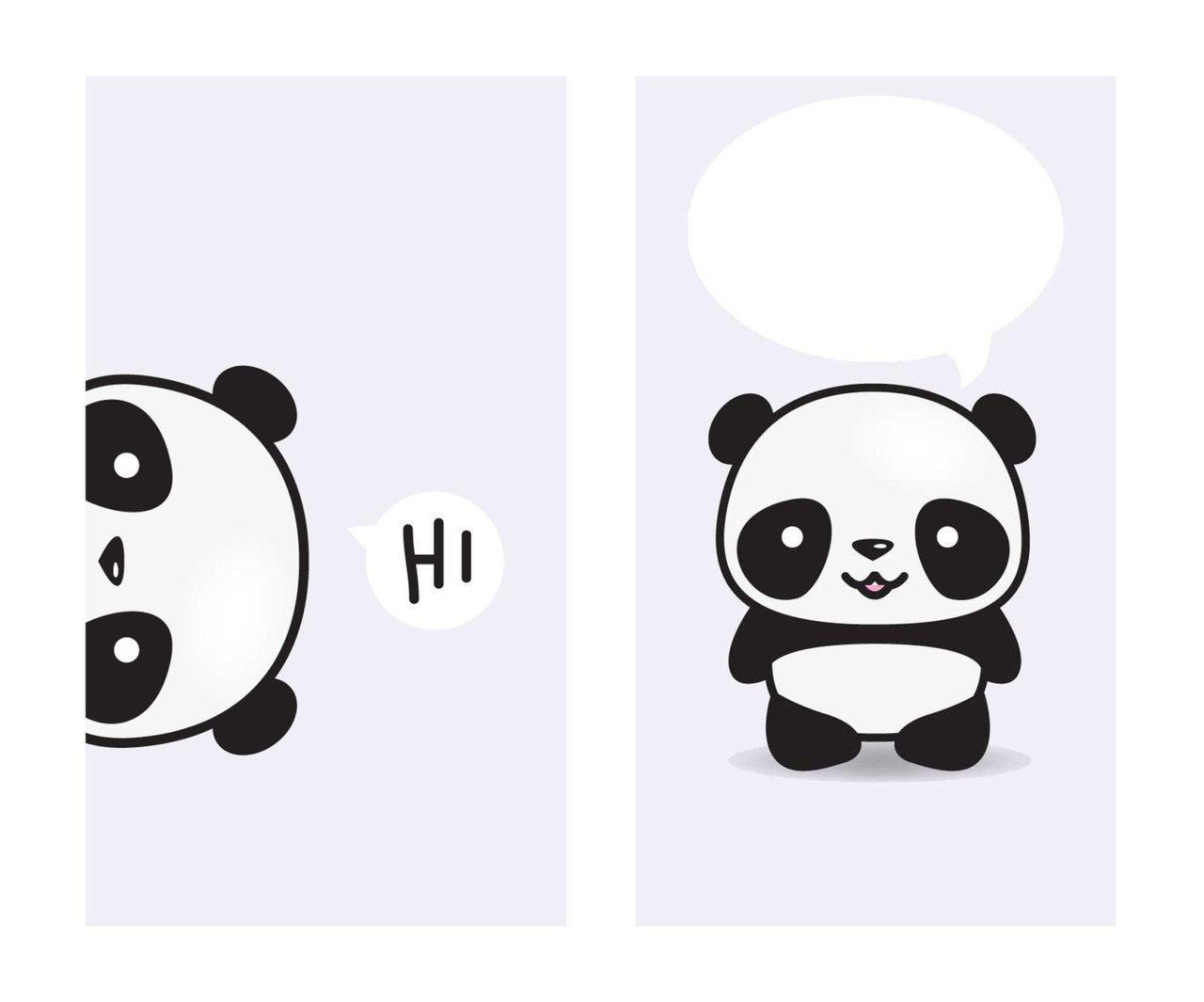 Panda Kawaii Wallpapers Phone Wallpaper Cave