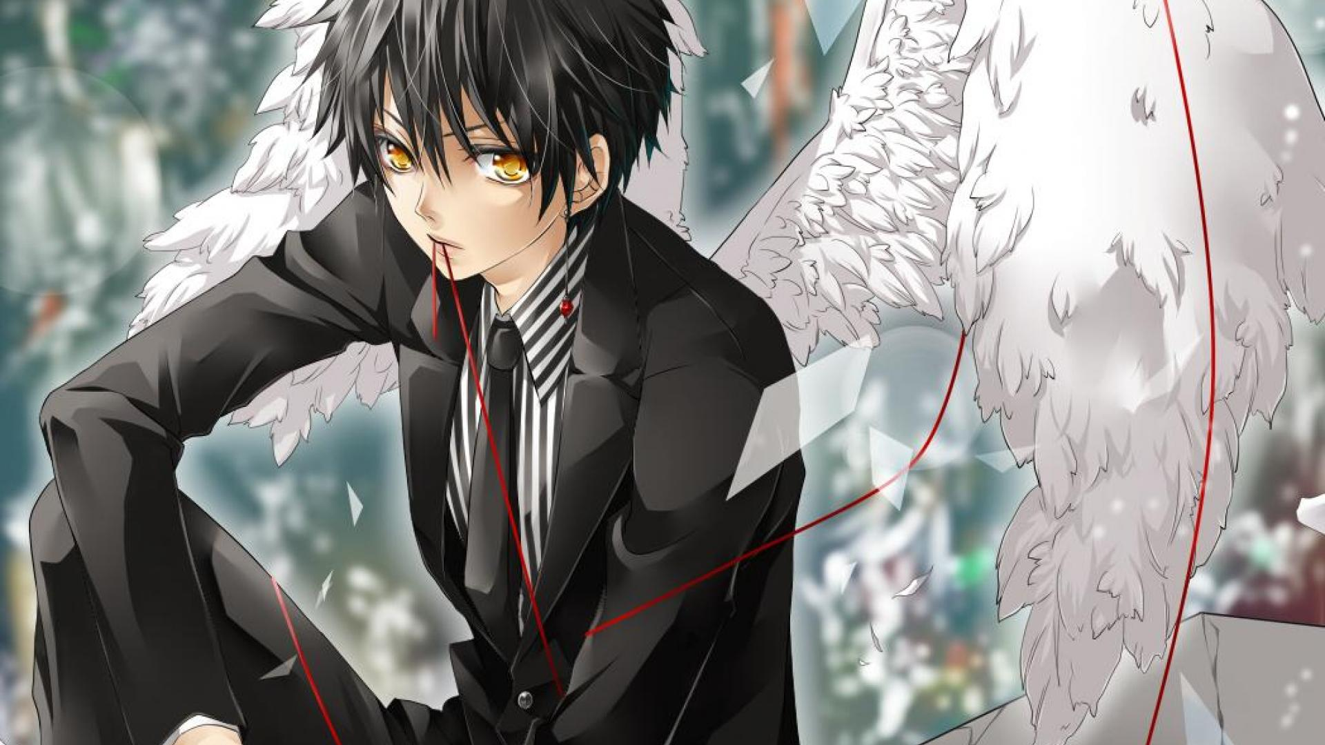 Cute Anime Boy Wallpapers - Wallpaper Cave