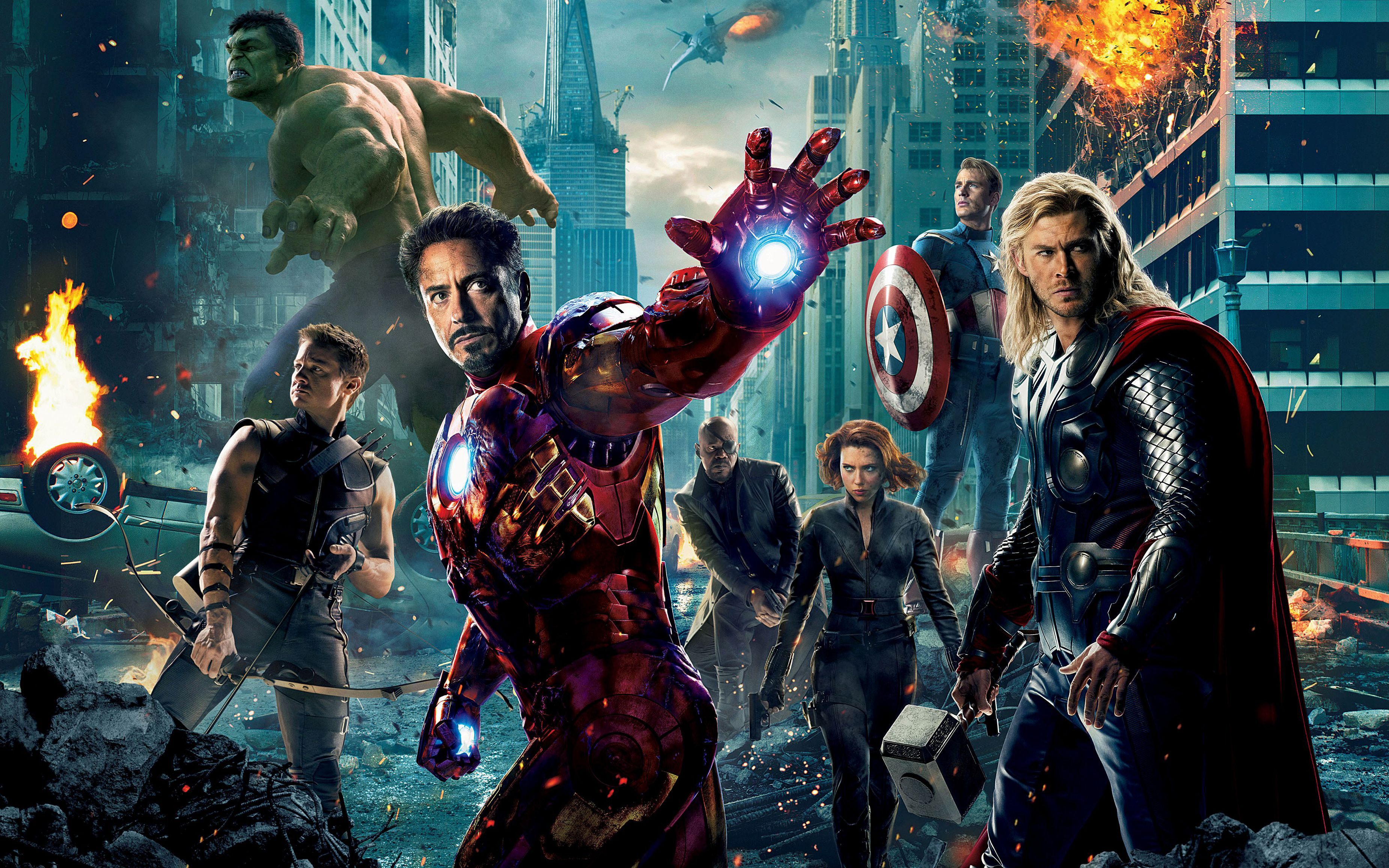283 The Avengers HD Wallpapers