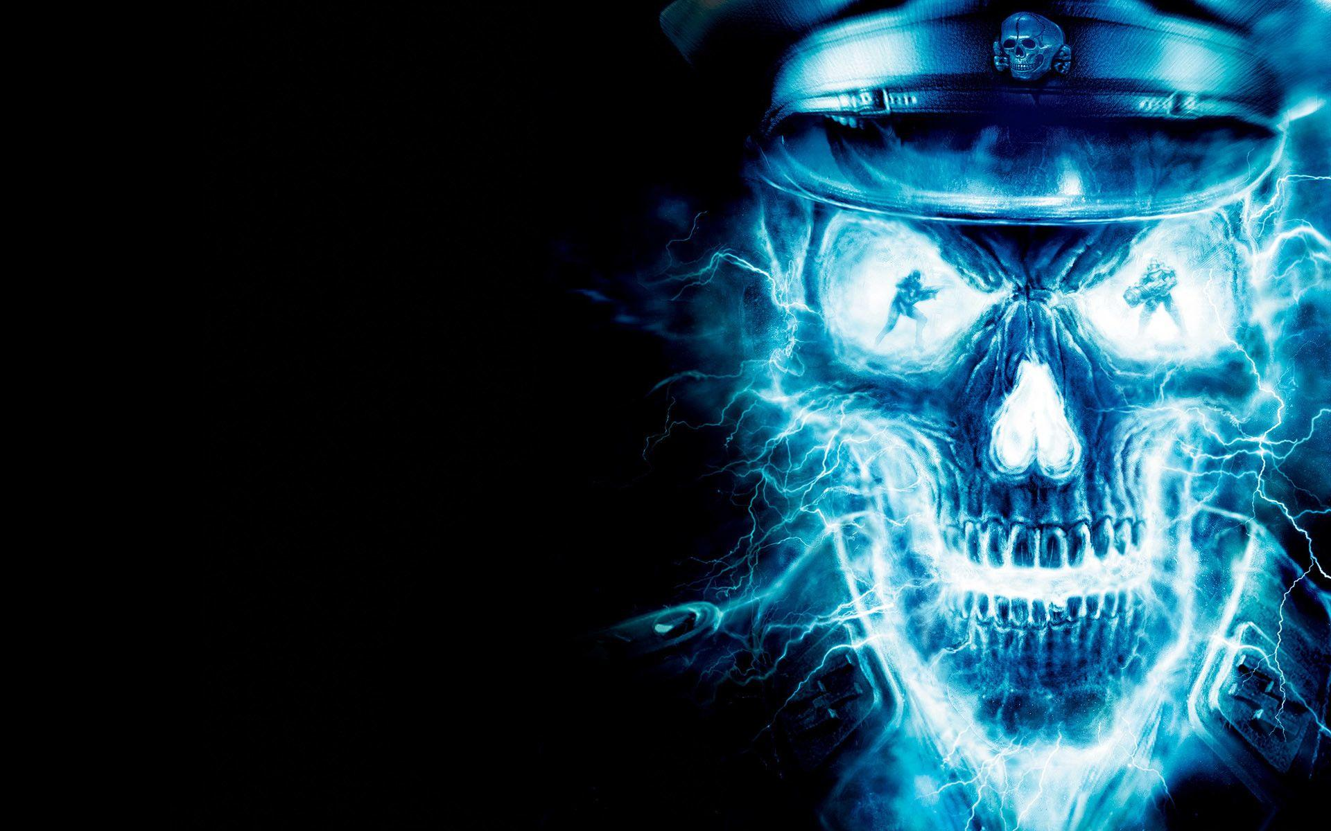 Blue Ghost Rider Wallpapers
