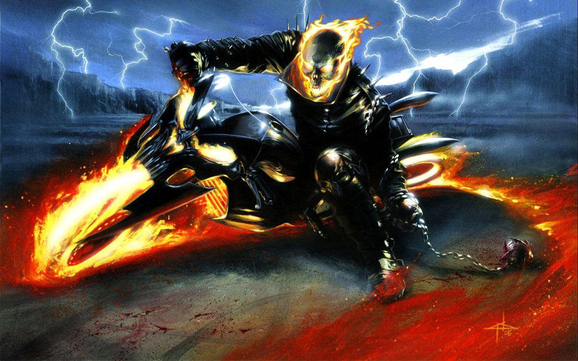 Ghost Rider Wallpapers 3 by Spitfire666xXxXx