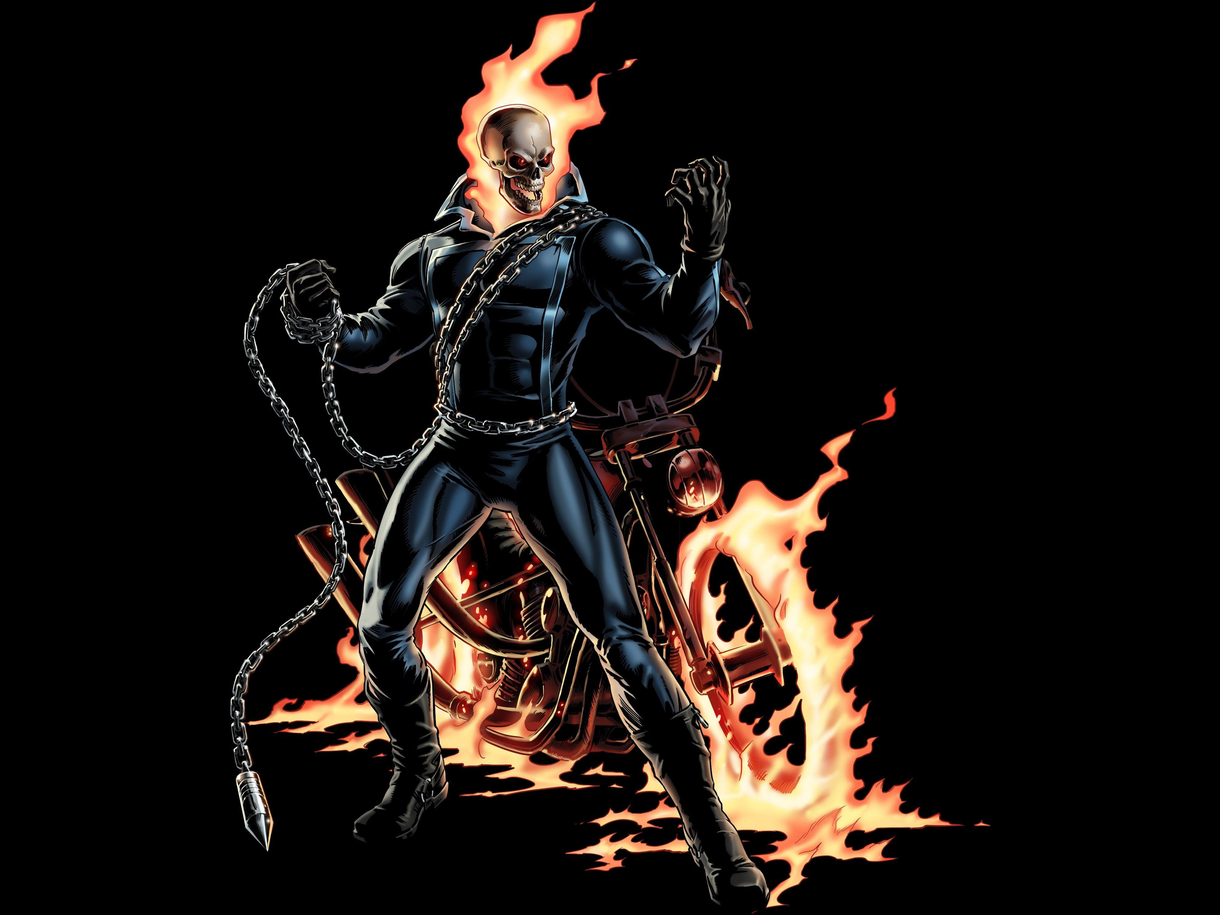 4k ghost rider hd wallpapers
