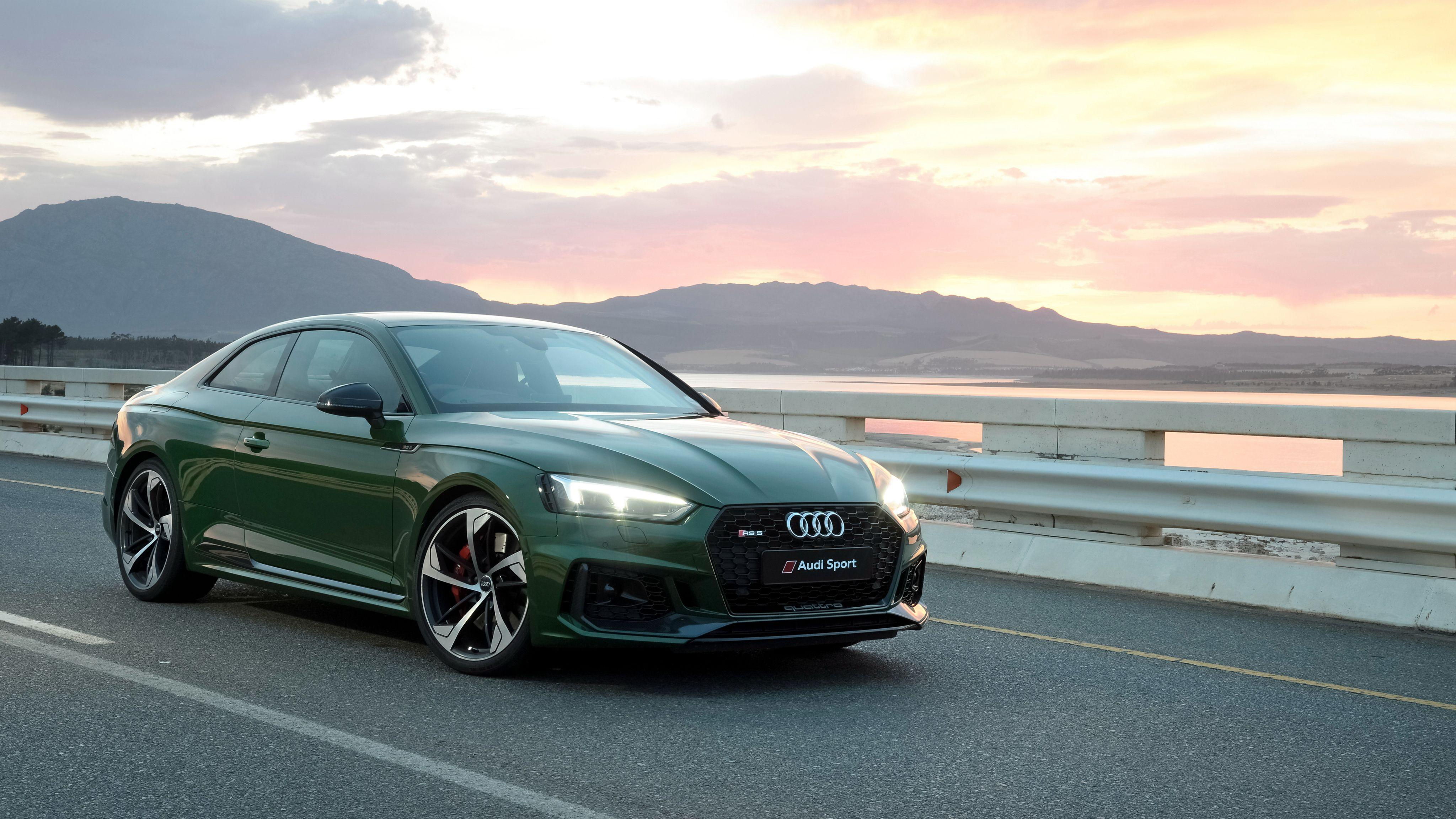 2018 Audi RS5 Coupe 4K Wallpapers