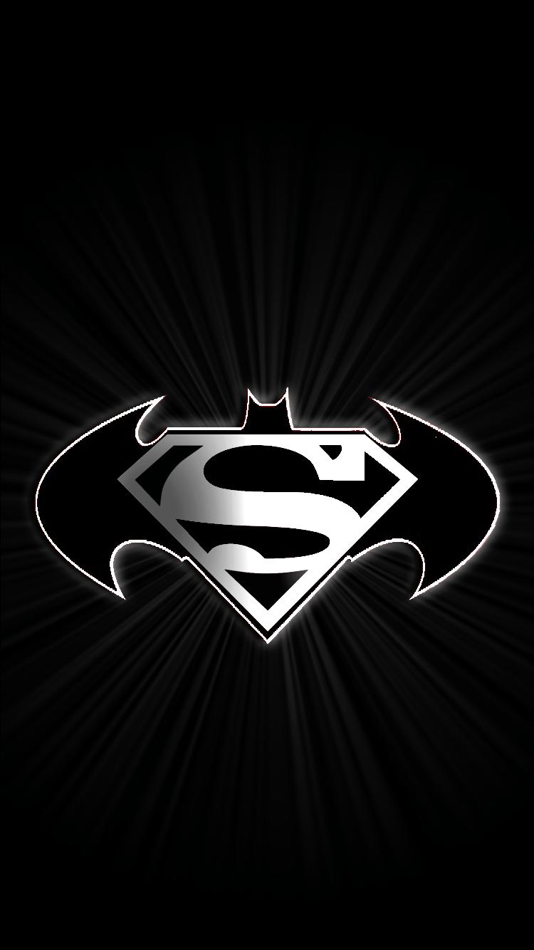 Batman Vs Superman Logo Wallpapers Wallpaper Cave