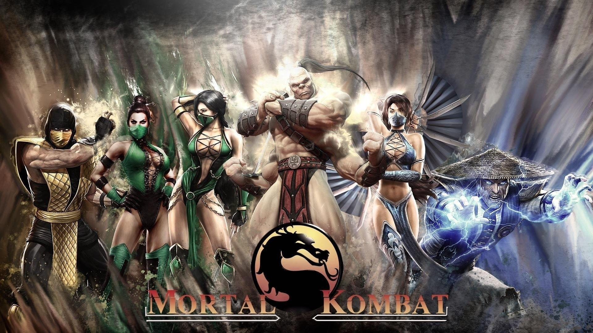 Mortal Kombat 9 Characters Wallpapers - Wallpaper Cave