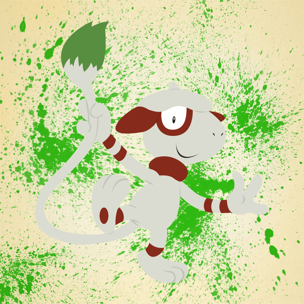 Vector Smeargle