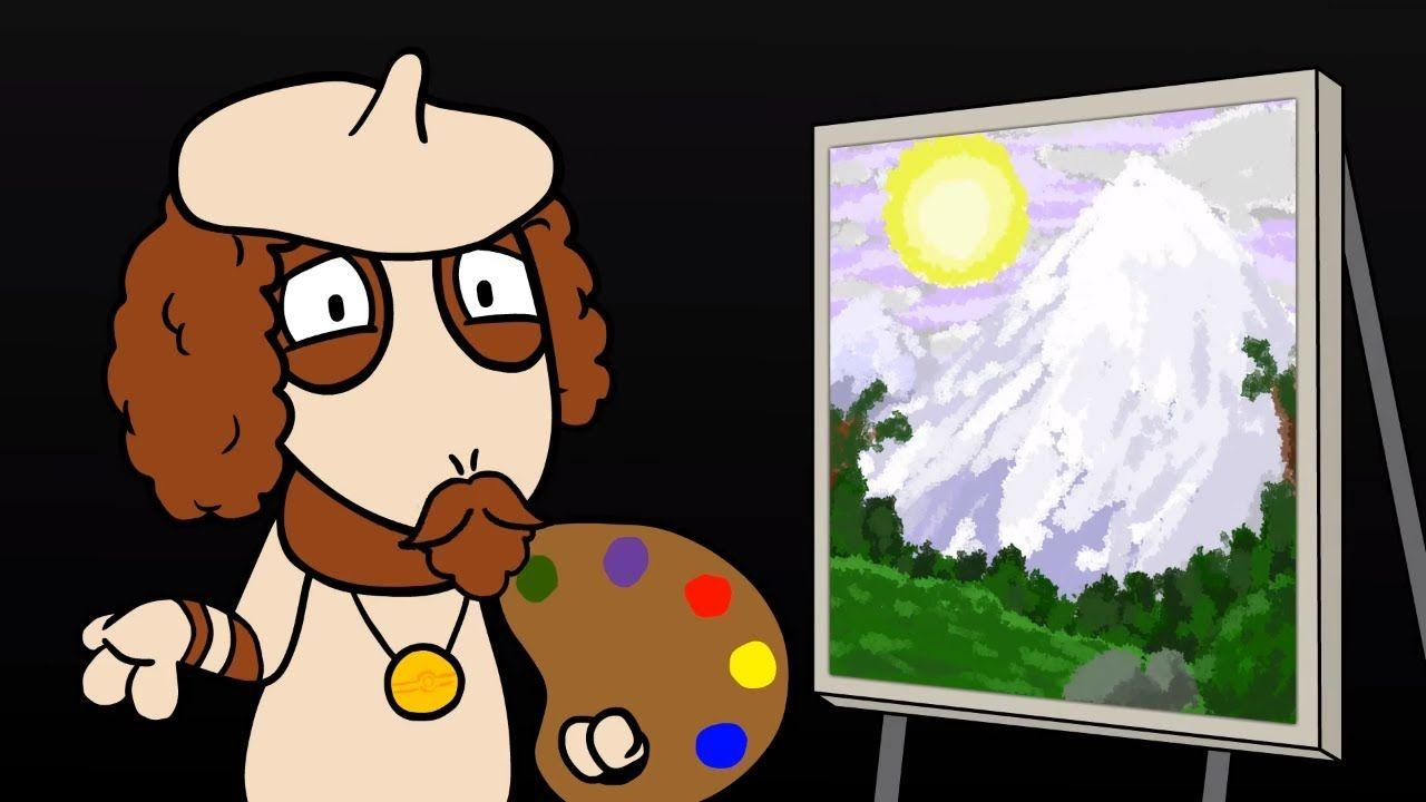 Painting in Pallet Town with Bob Smeargle