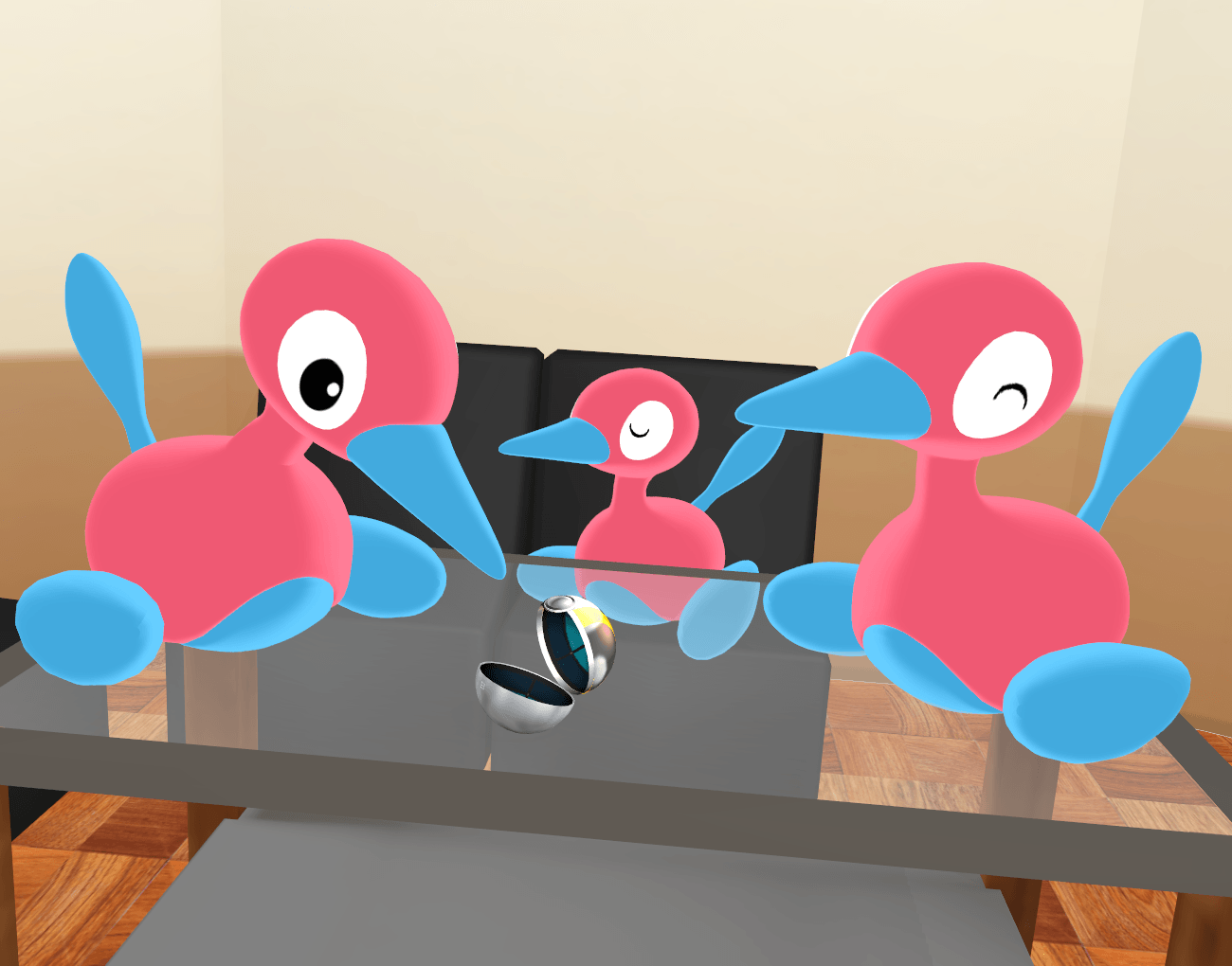 Pokemon Porygon 2 DL by P-Chan93 on DeviantArt