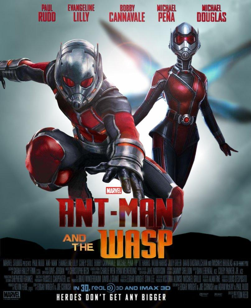 Ant Man and The Wasp got some BTS image leaked