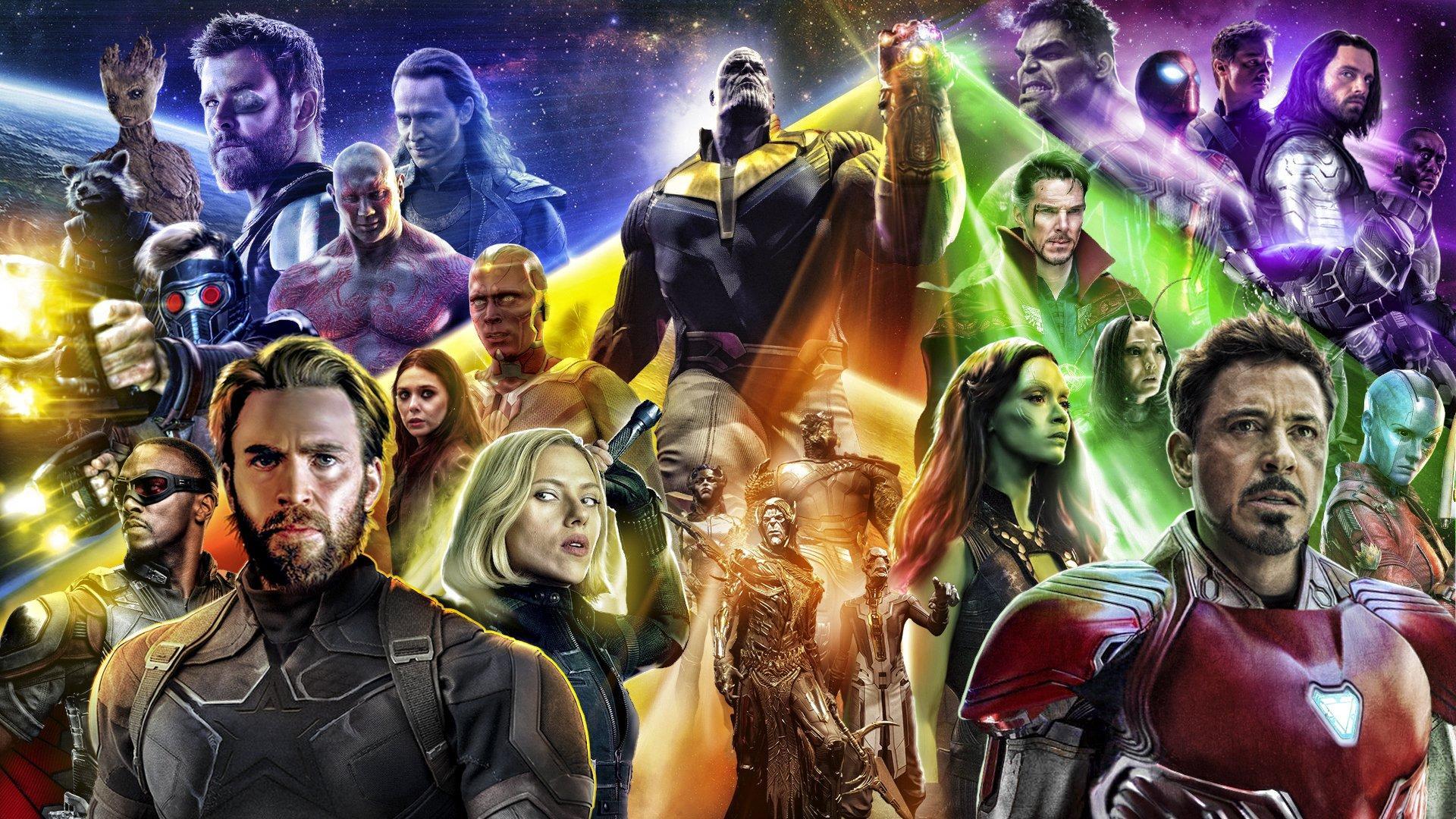 Thor Infinity War Wallpapers Wallpaper Cave