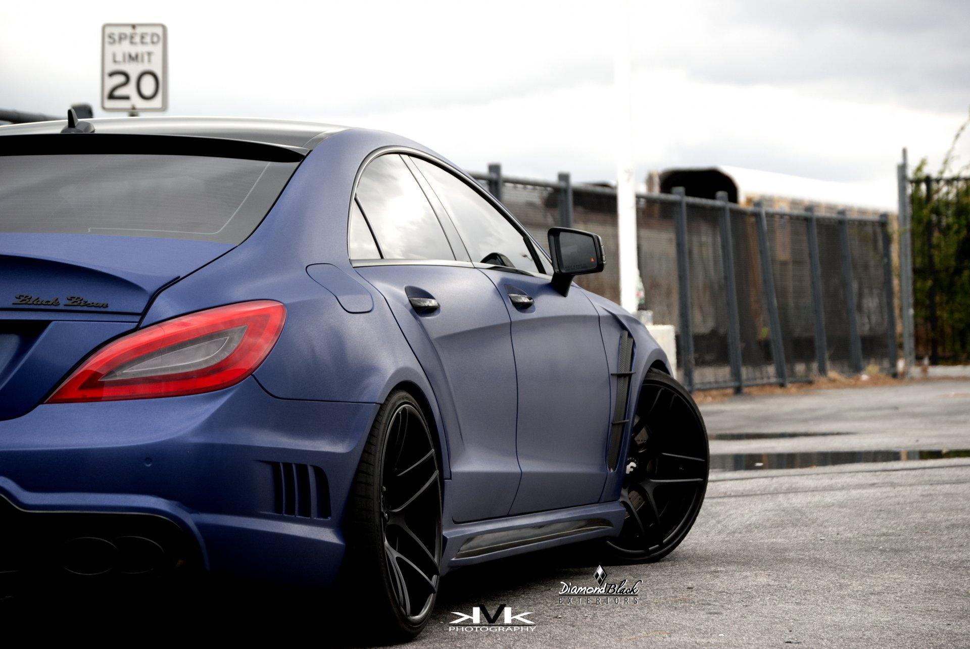 View Mercedes Benz Cls 63 Amg Blue Wallpaper Hd  Images