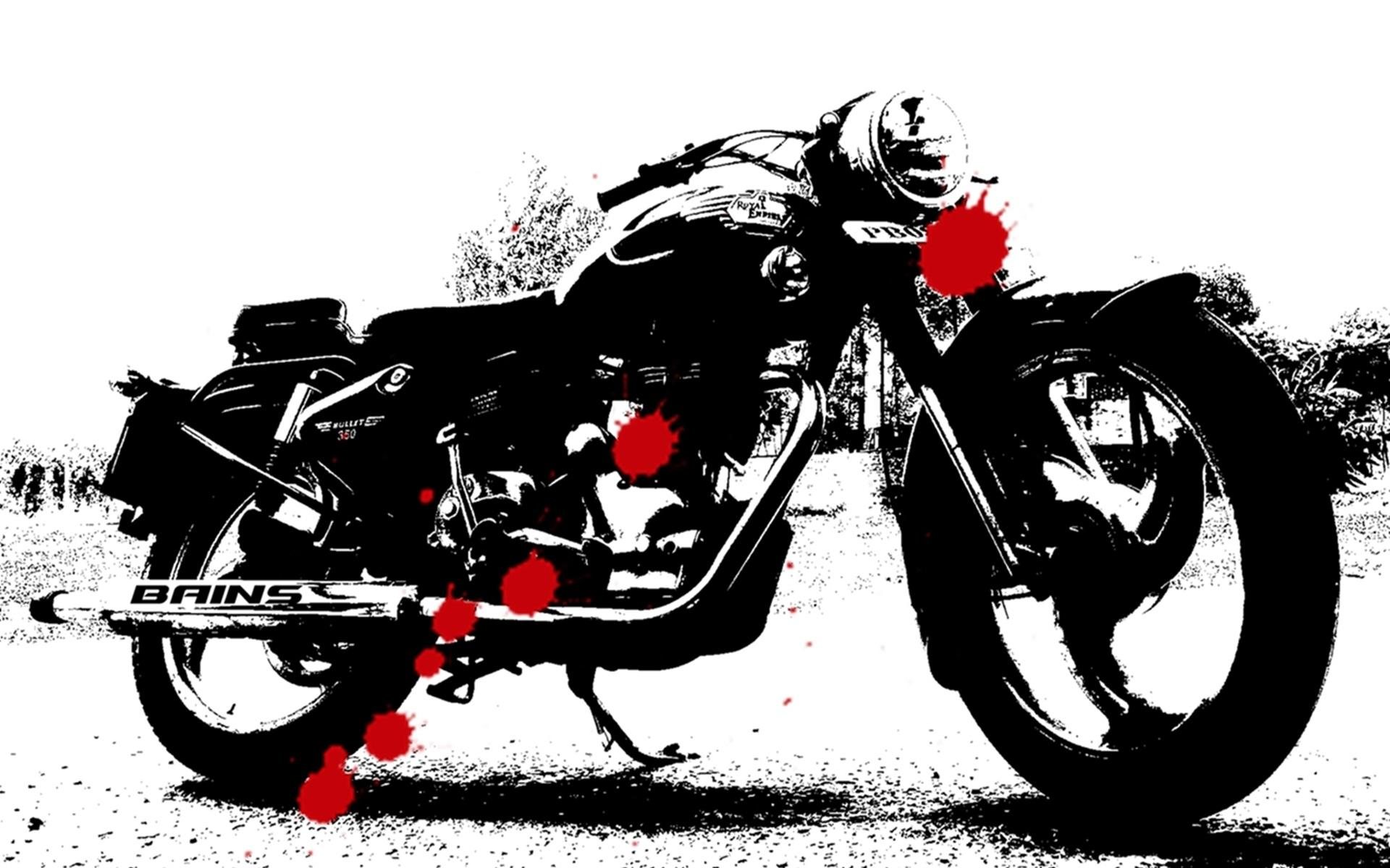 Royal Enfield Black Wallpapers Wallpaper Cave