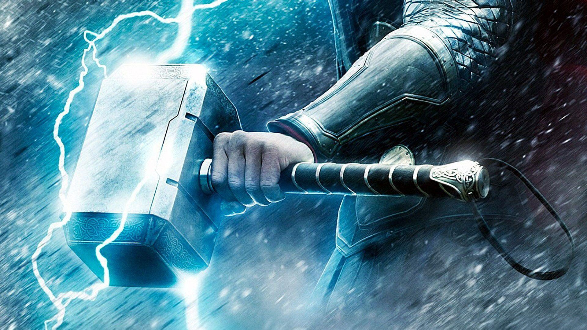 Thor Hammer Hd Wallpapers Wallpaper Cave