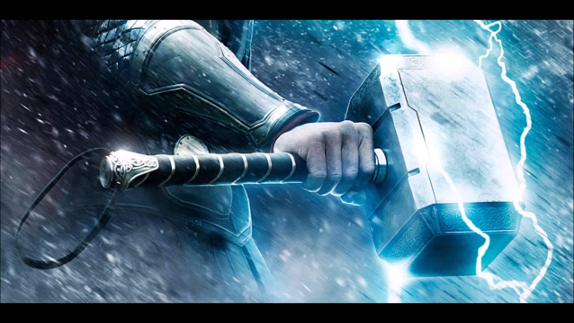 Wallpaper Thor Hammer