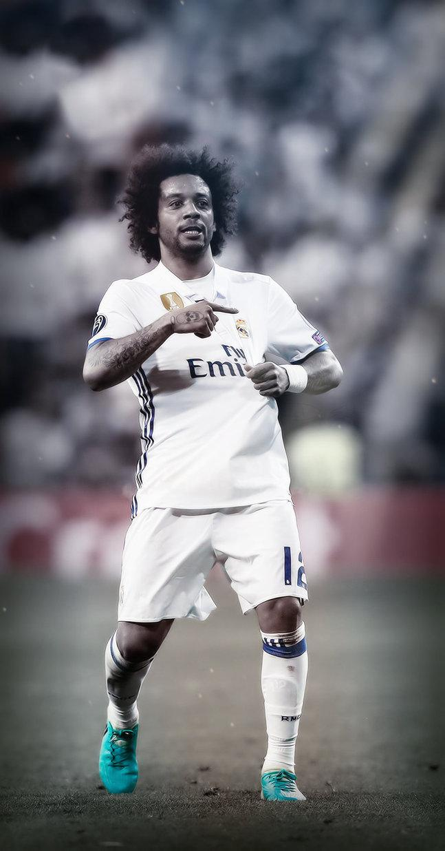 Marcelo Vieira Real Madrid IPhone Wallpaper By Adi 149 On DeviantArt