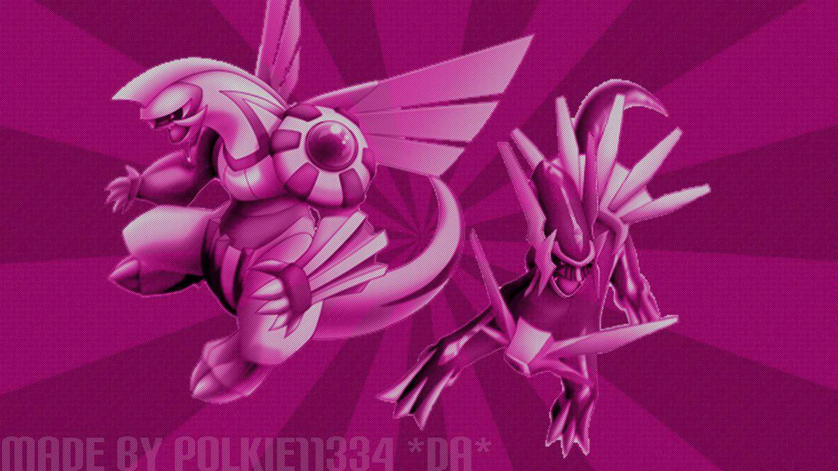 Pokemon Diamond.Pearl Dialga.Palkia Wallpaper! by Polkie11334 on