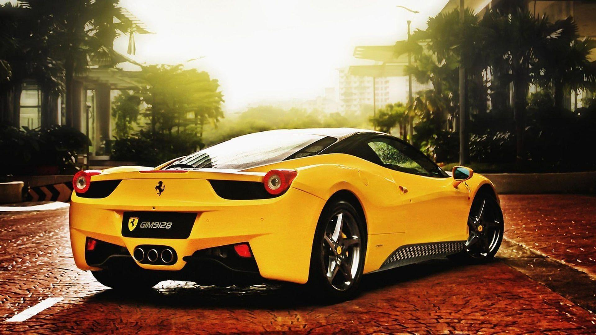 Hd Ferrari Car Wallpapers 1080p Wallpaper Cave