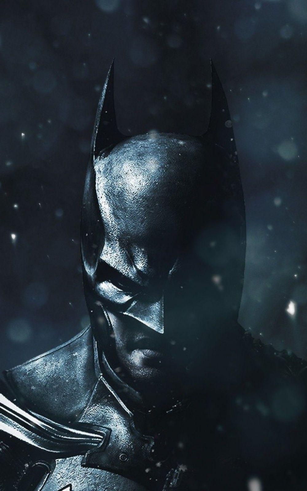 Batman Falling Snow Android Wallpapers free download