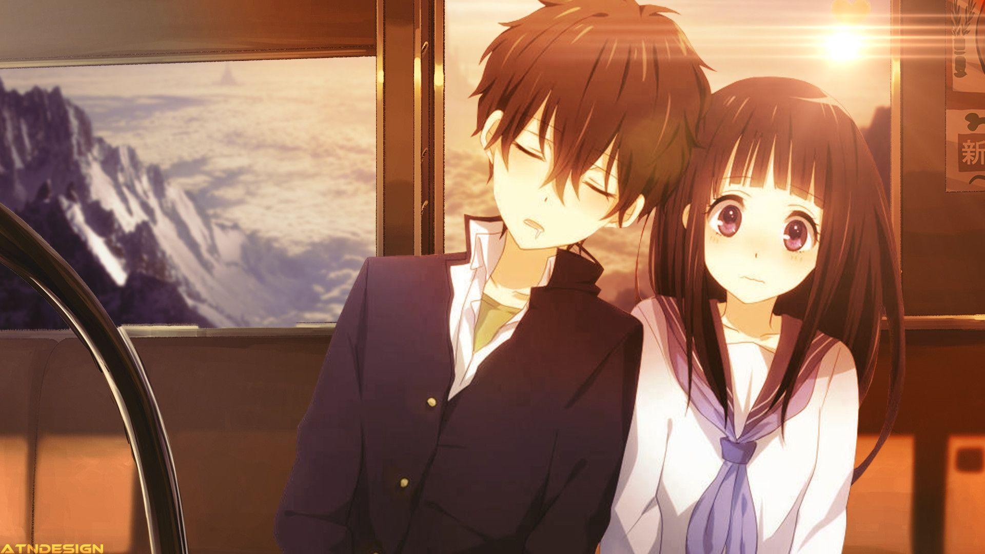Cute Couple Anime Wallpapers Wallpaper Cave